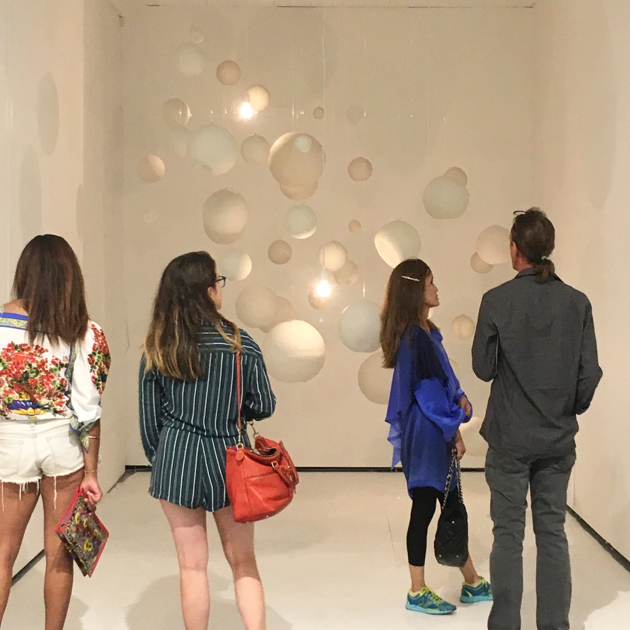 Installation view of  Never Stop Dancing . Photo courtesy the artist.