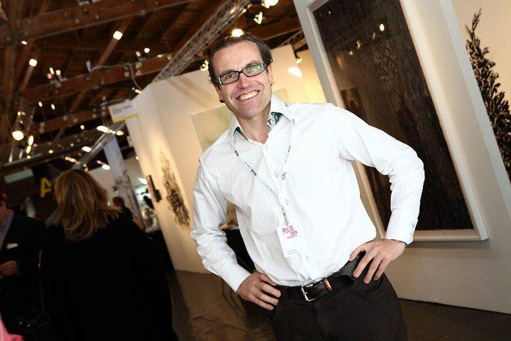 Will Ramsay at PULSE Art Fair 2010