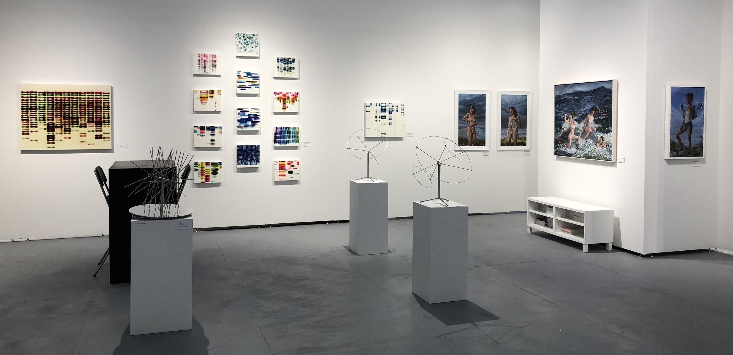 Booth installation at PULSE Art Fair (2018).