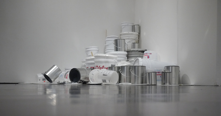David Ellis,  True Value (Paint fukket),  2011, Kinetic sound installation, Dimensions variable.