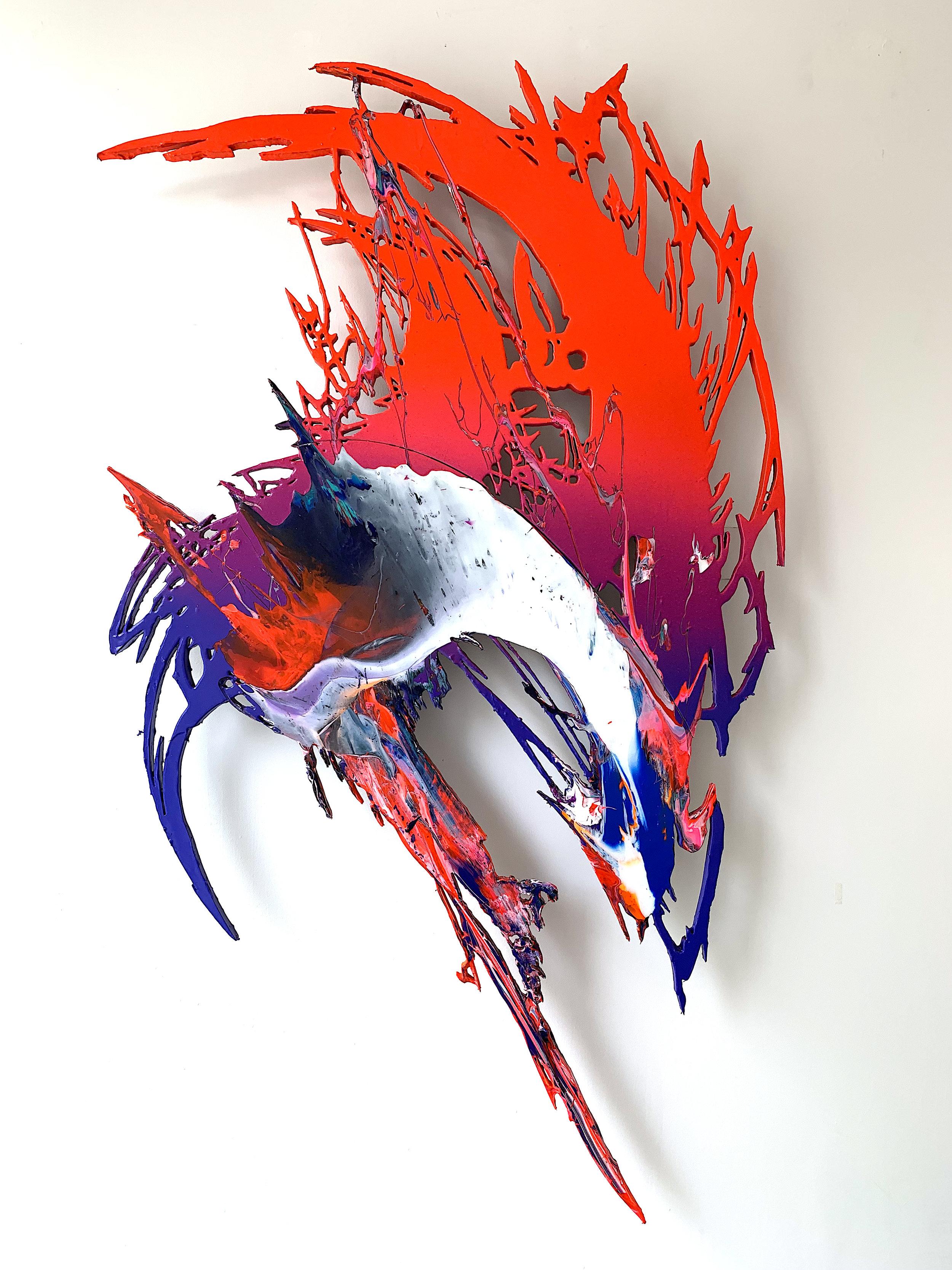 GR gallery_Meguru Yamaguchi_Shadow Piece No.2_2019_Acrylic and resin on shaped woodboard_78x55in_USD18000.jpg