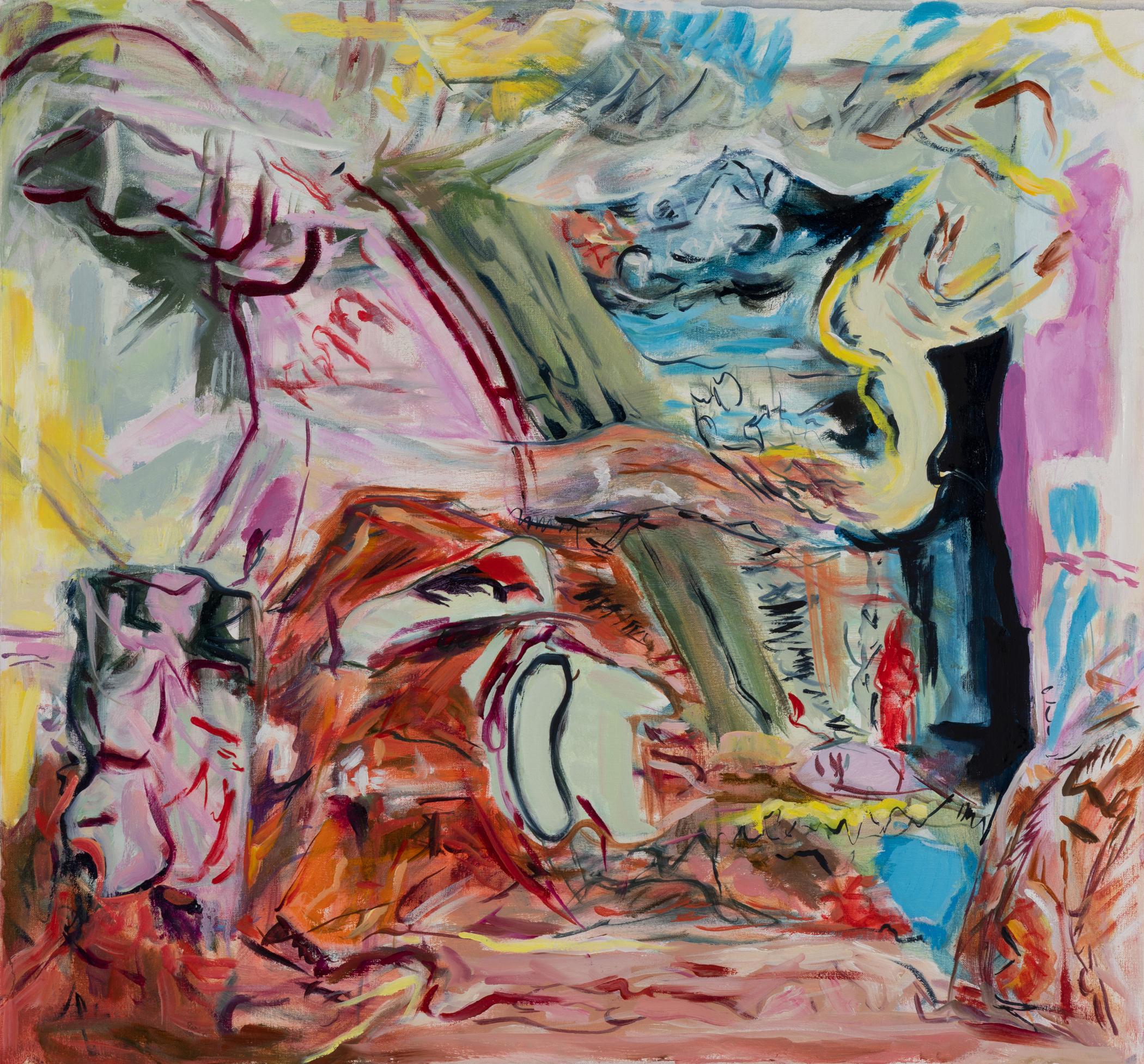 Kolman & Pryor Gallery_Jil Evans_Heart Bright Dark 2_2019_oil on canvas_30 x 32 inches_�2700.jpg