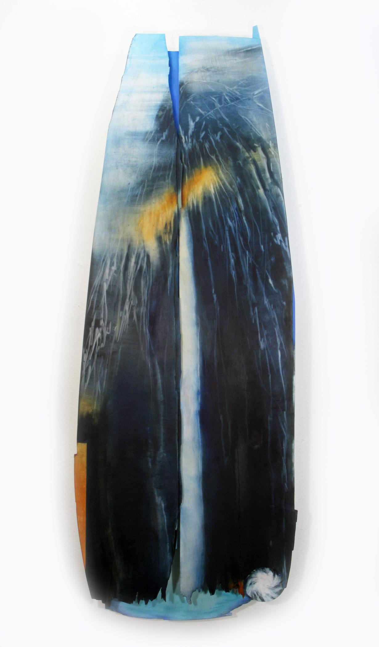 Kolman & Pryor Gallery_Cameron Zebrun_Near Eagle Peak_2019_oil on wood_46 x 17 x 4 inches_�2700.jpg