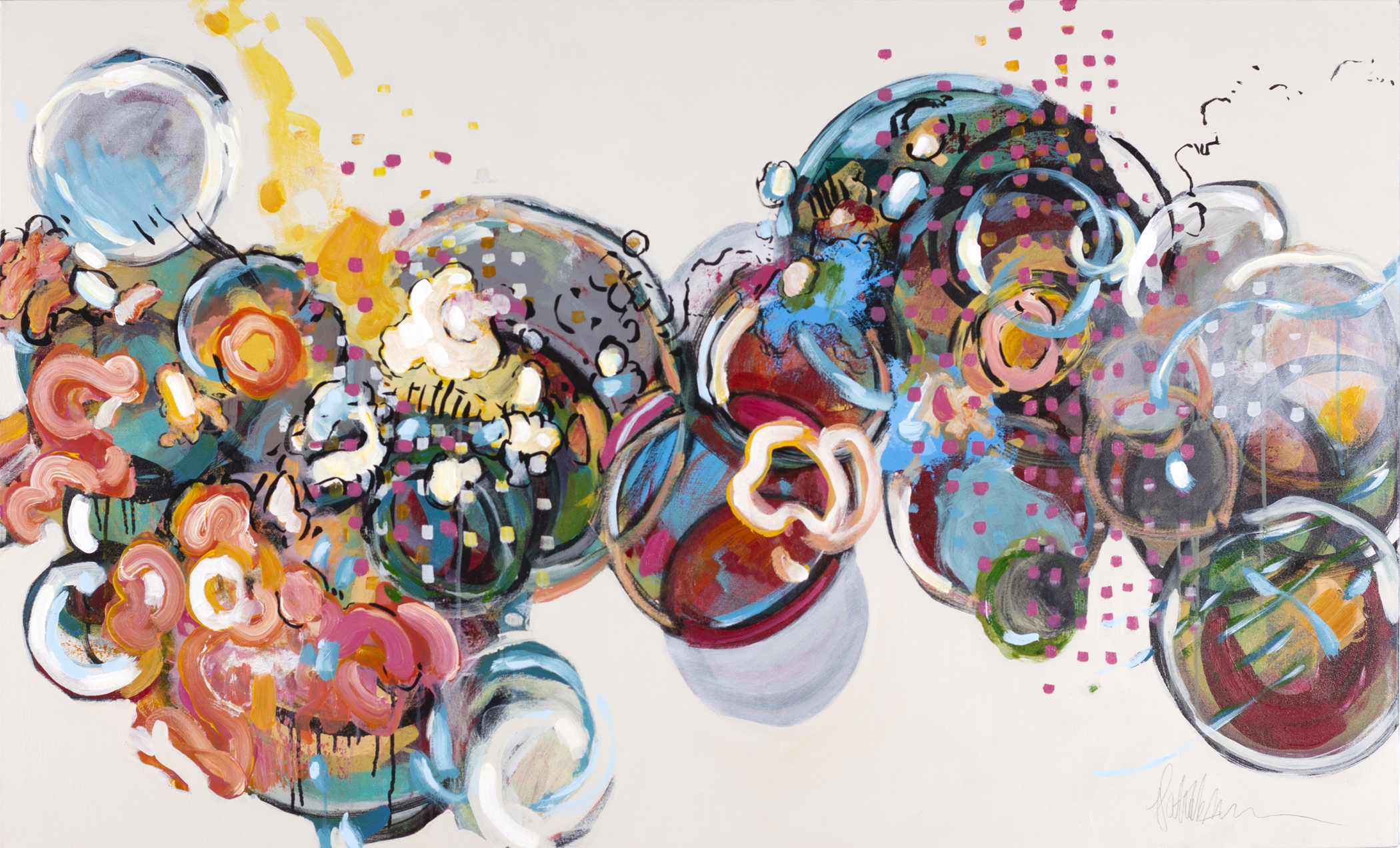 Kolman & Pryor Gallery_Patrick Pryor_Gala_2019_acrylic on canvas_36 x 60 inches_�5925.jpg