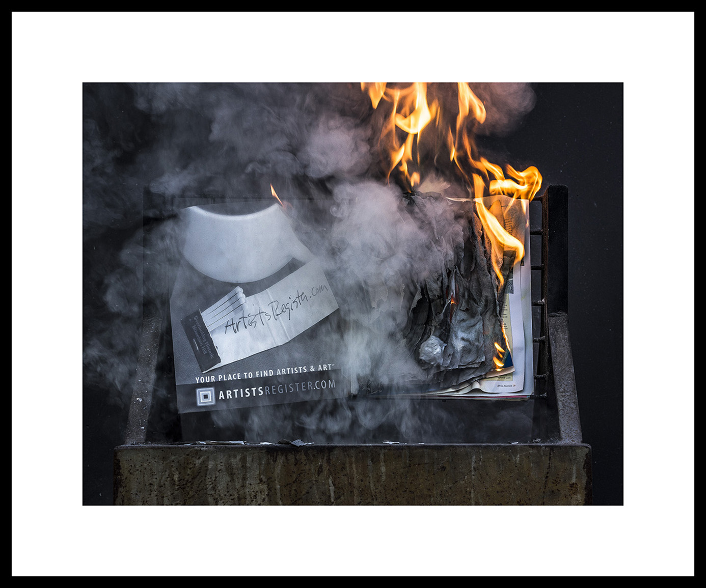 BWGPS_Gregory Perkel_Savonarola Suite_AiA Dec 2003 #0280F, 2019_Archival ink jet print on Epson exhibition fiber paper_Framed_Edition 5_2AP_�3,000_Courtesy of the Artist and Black & White Project Sp.jpg