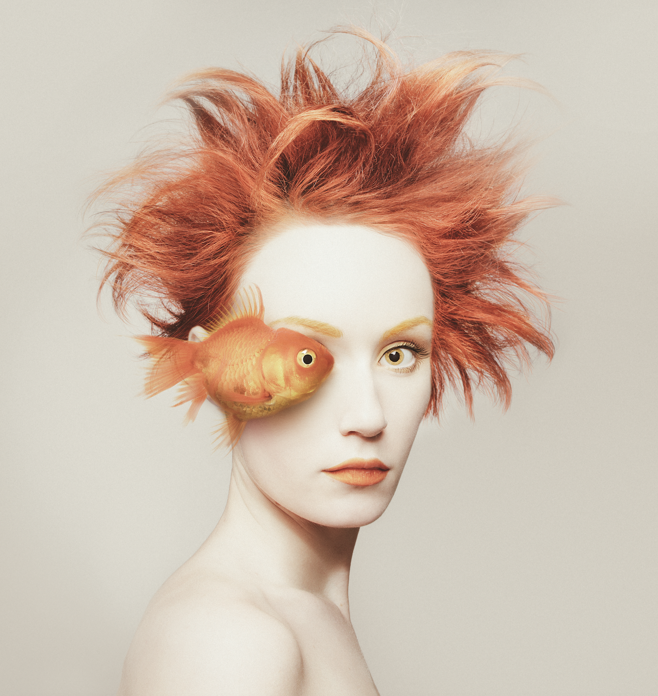 Anna Laudel Gallery , Flóra Borsi,  Fisheye , 2016, Giclee print on Hahnemuhle paper, 26 x 27.5 in., Edition of 25