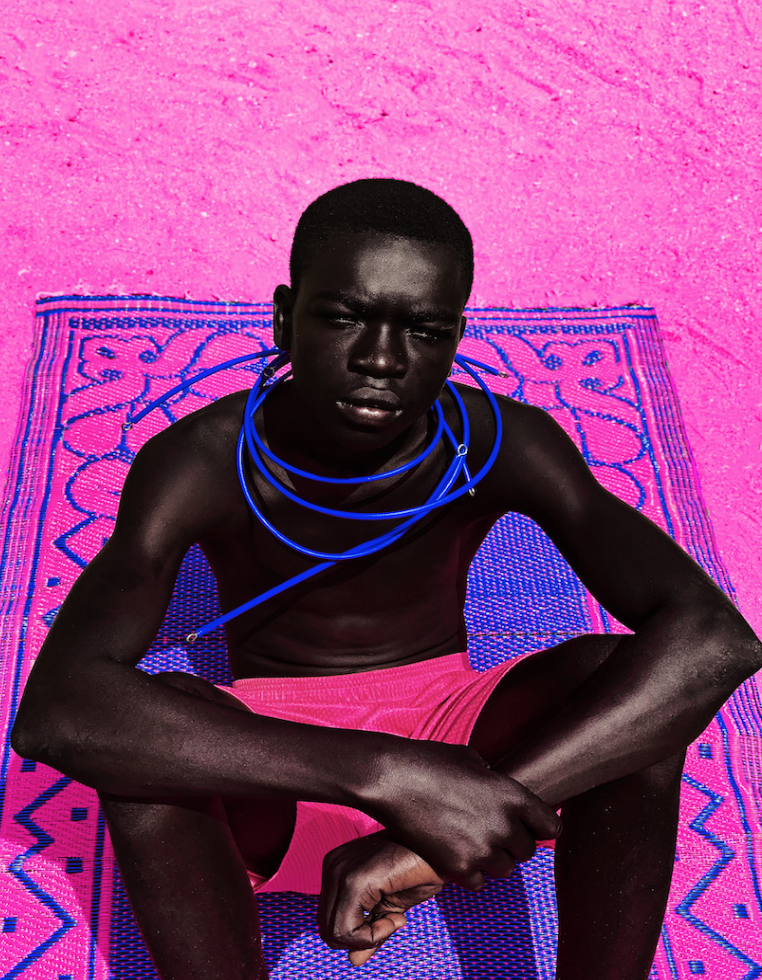 NIL Gallery , Prince Gyasi,  Le Travail est Un Art Series , 2019, 24 x 18 in., Edition of 10