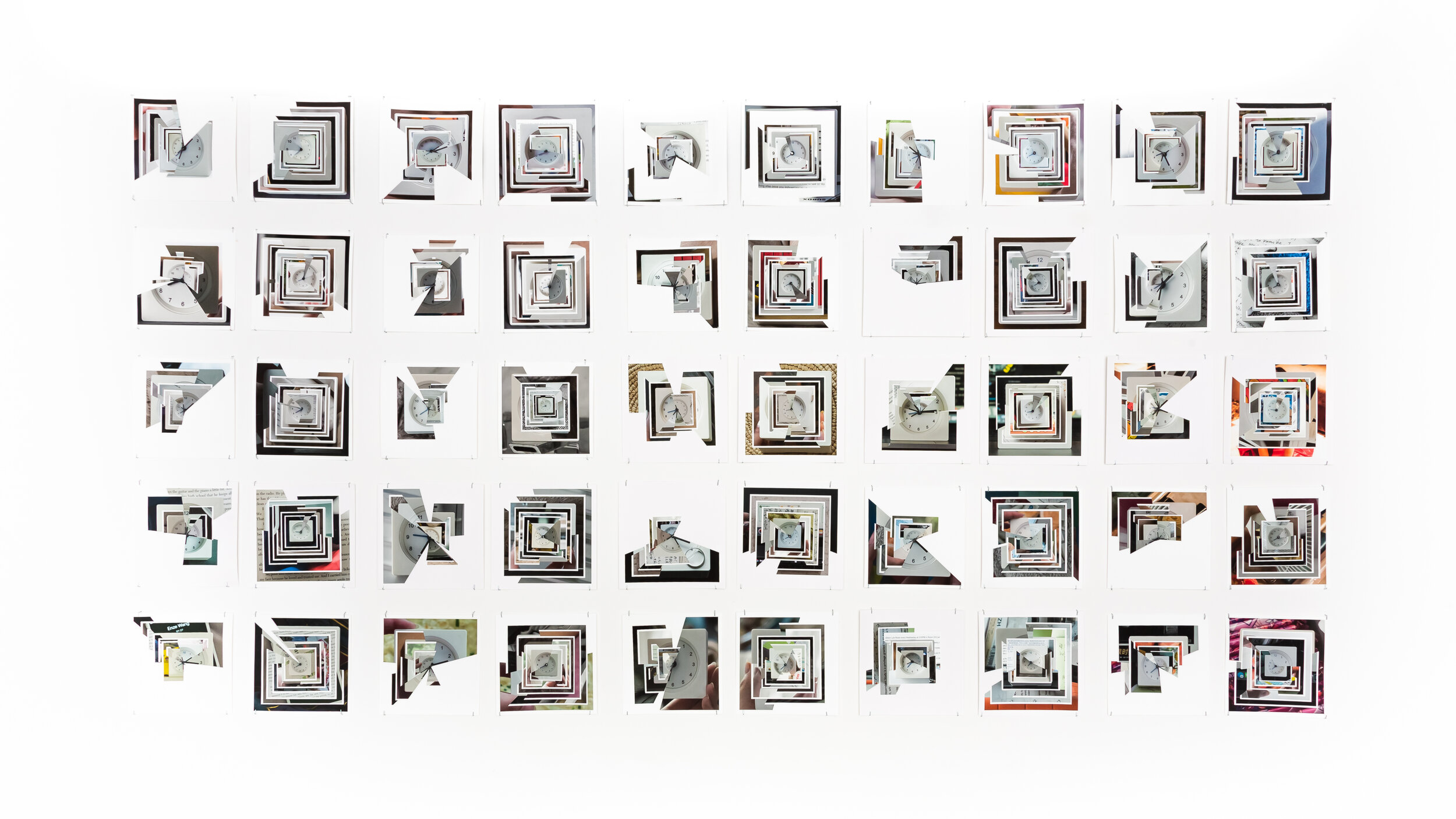 SVA GALLERIES, Yuan Zhang, The Clock, 2018-2019, Archival inkjet print,installation_dimensionsvariable.JPG