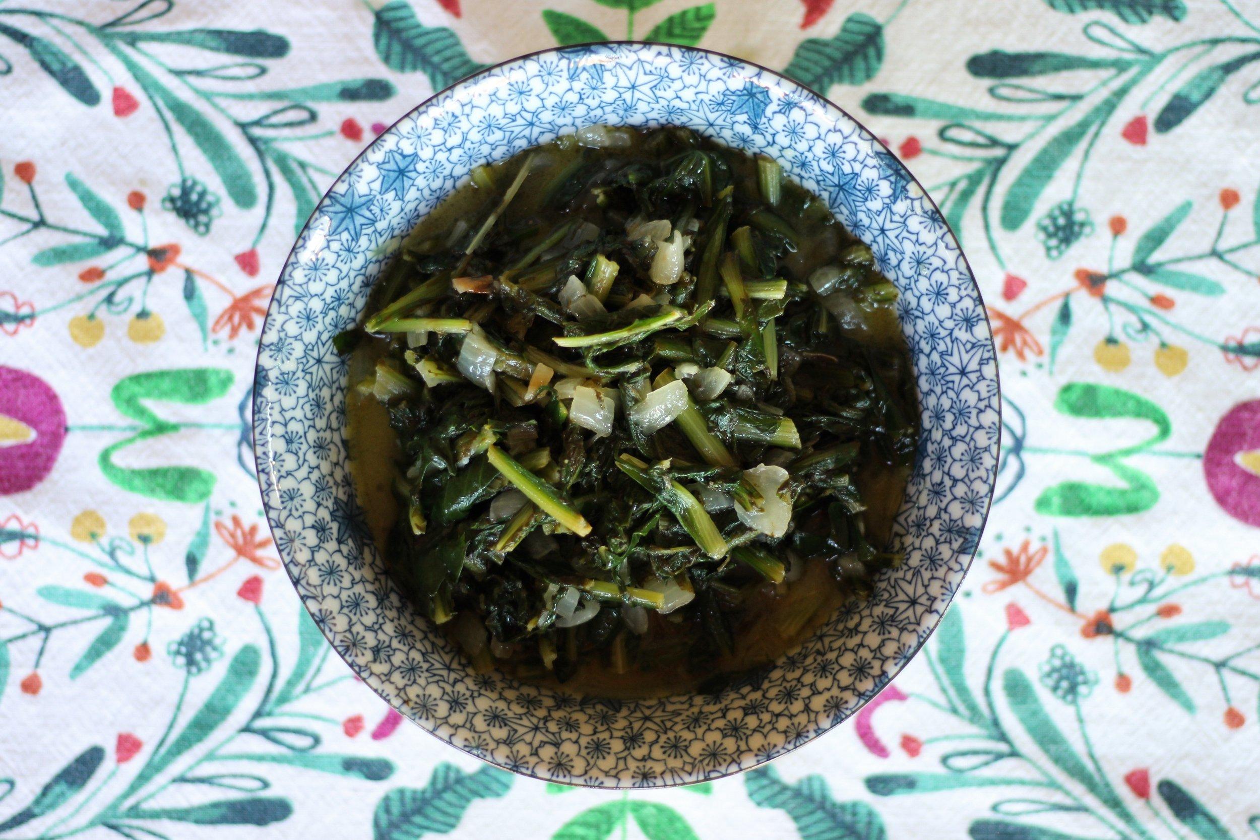 dandelion greens 5