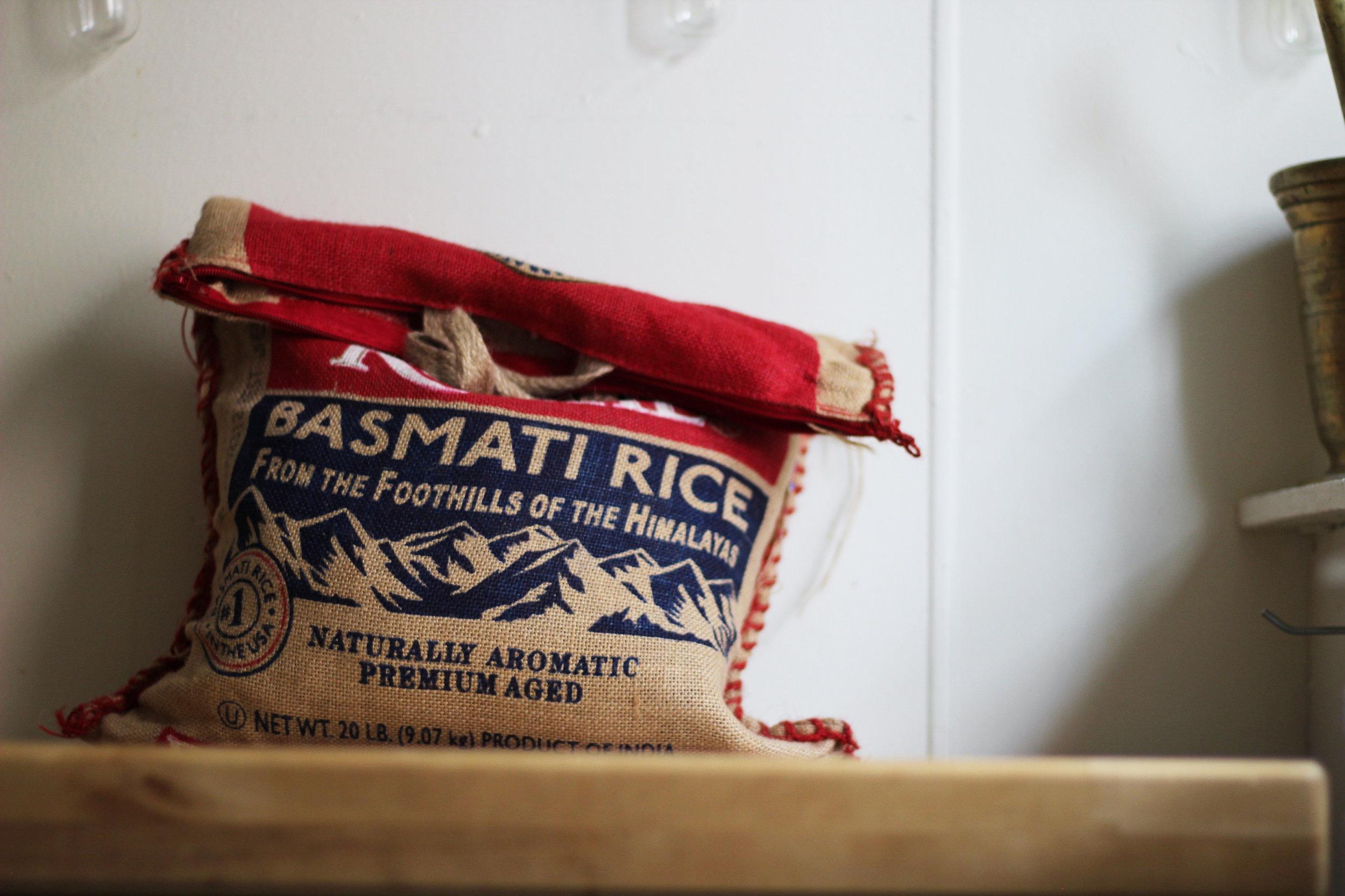 Basmati Rice Bag