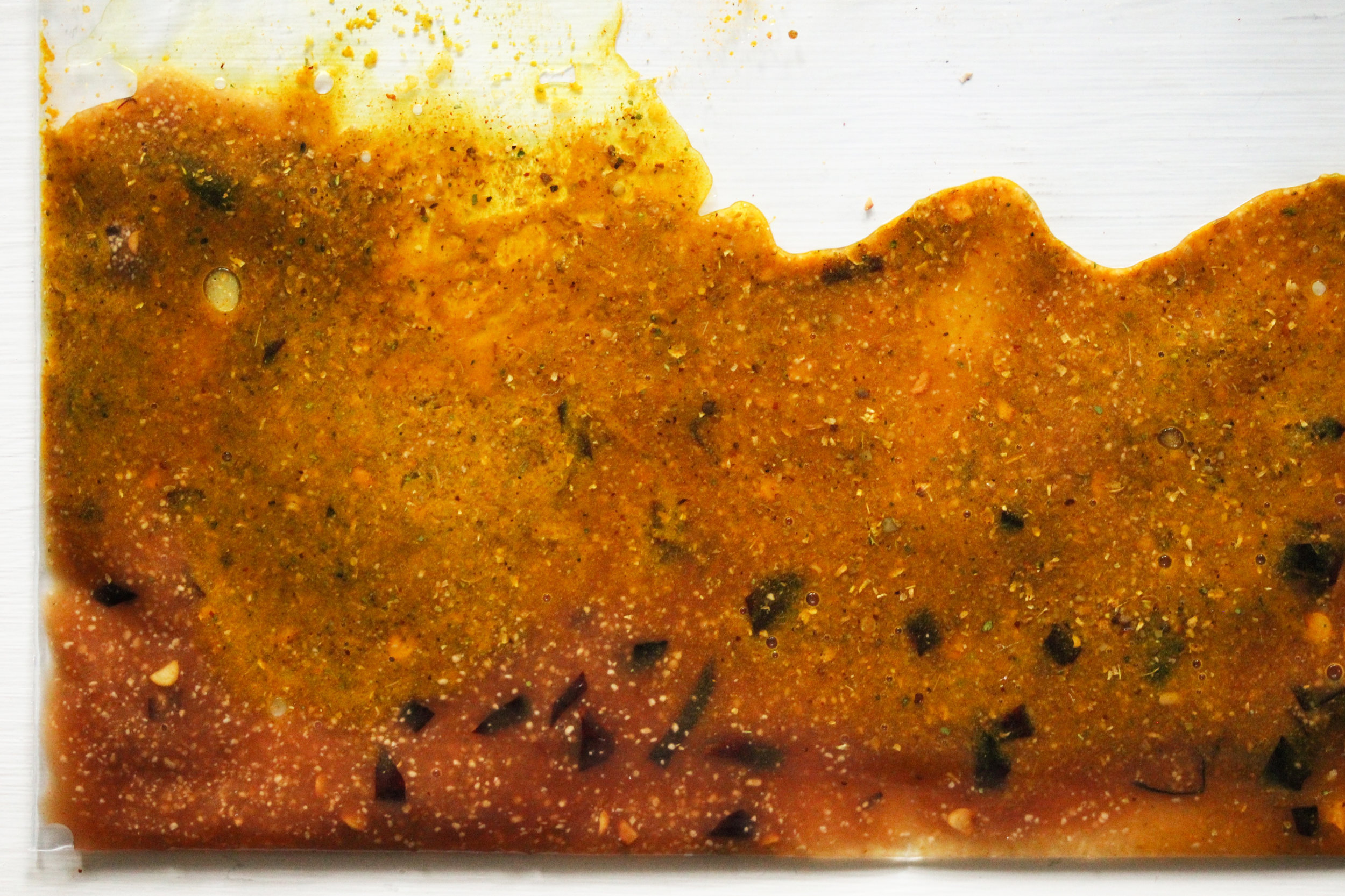 Sweet, Sour, and Spicy Masgouf Marinade
