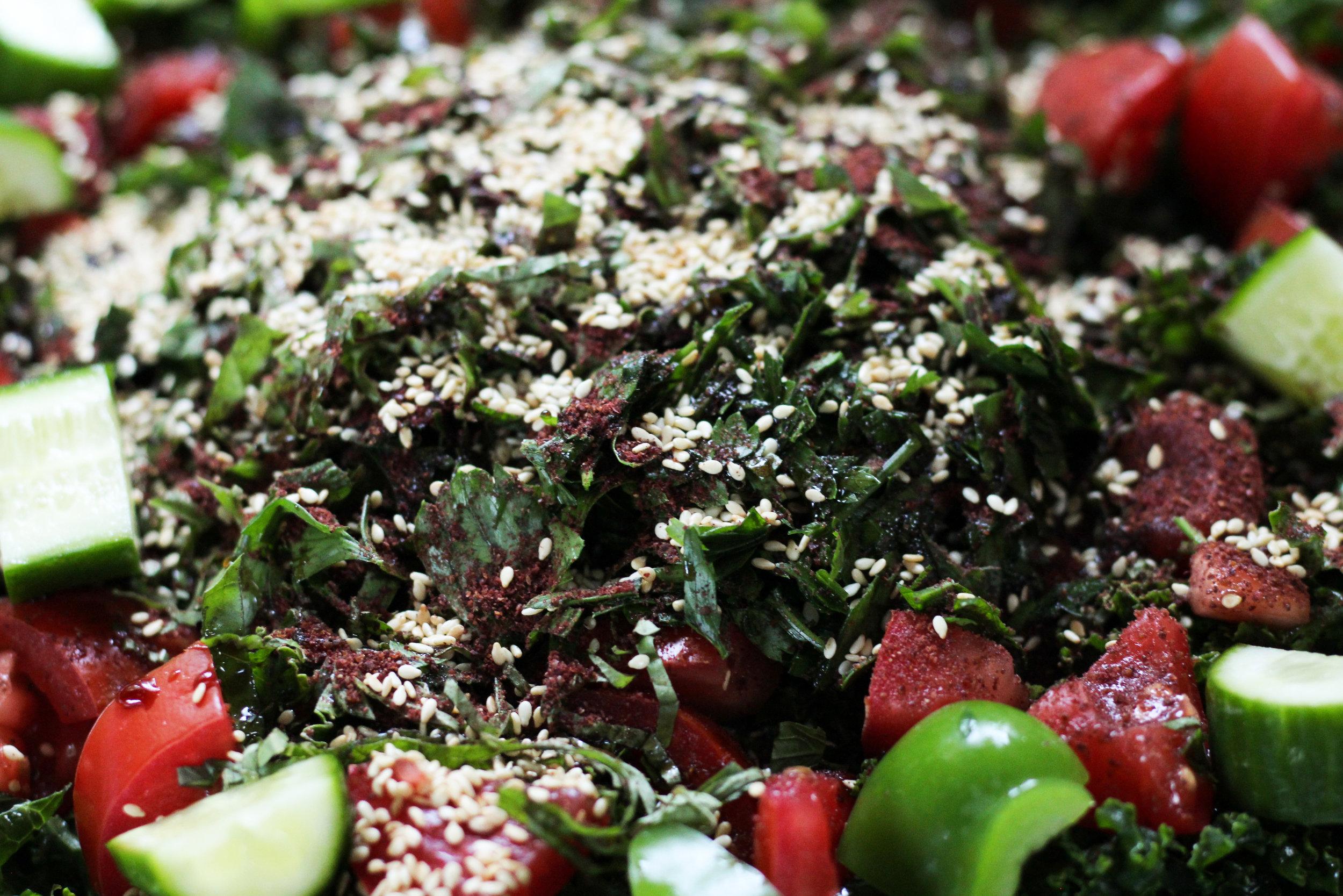 Kale Fattoush