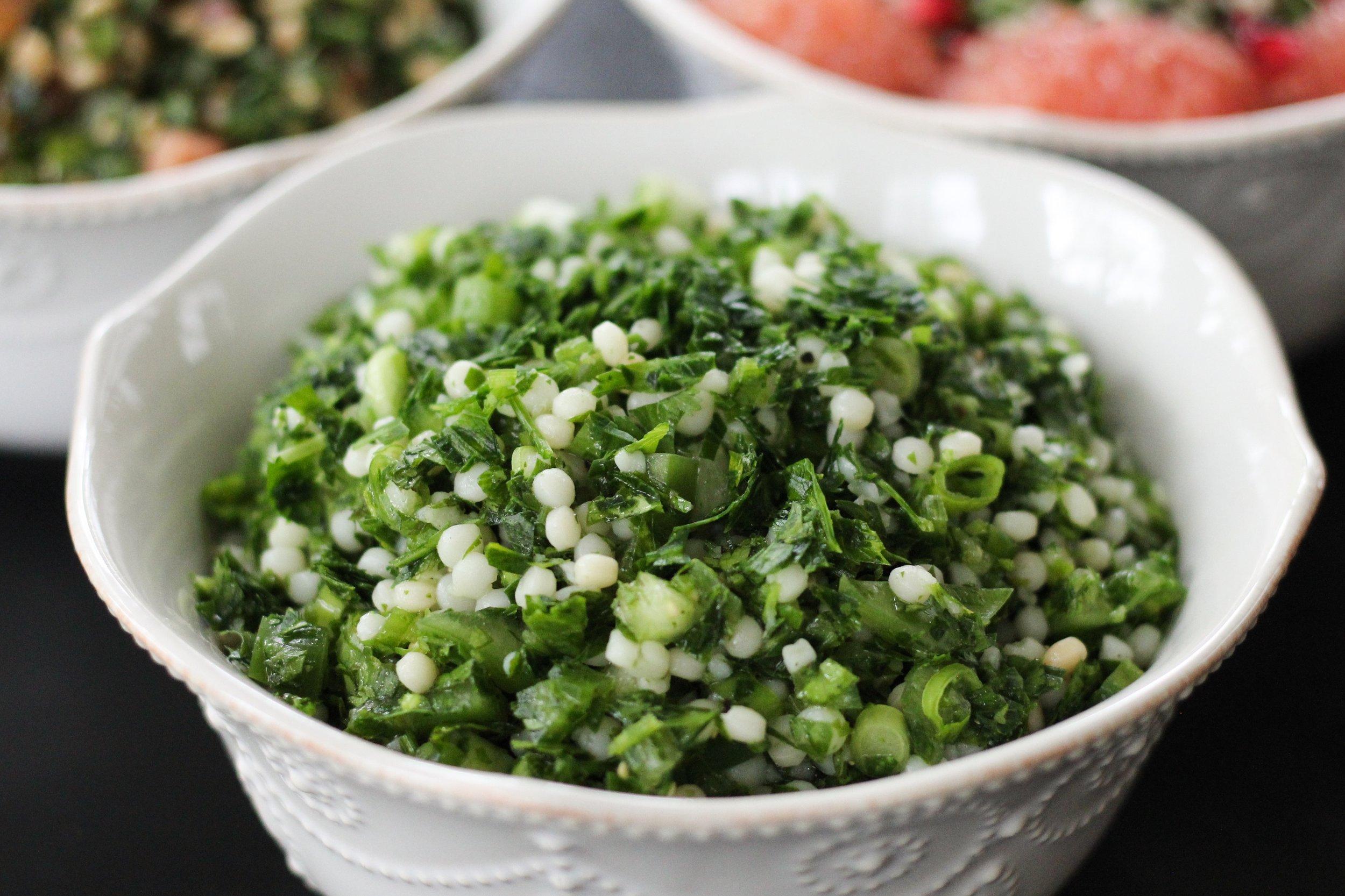 tomatillo tabbouleh verde