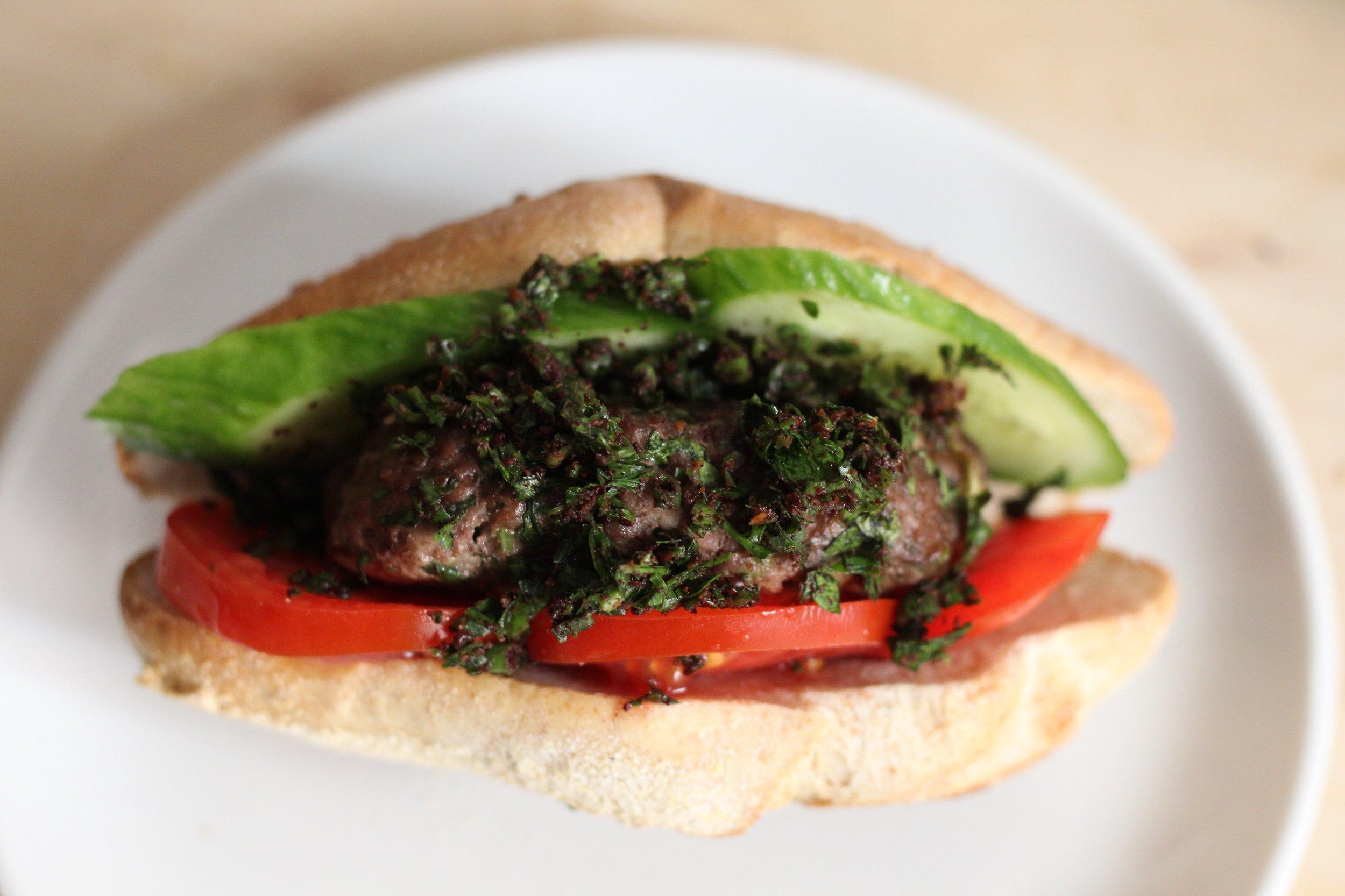 kebab burgers