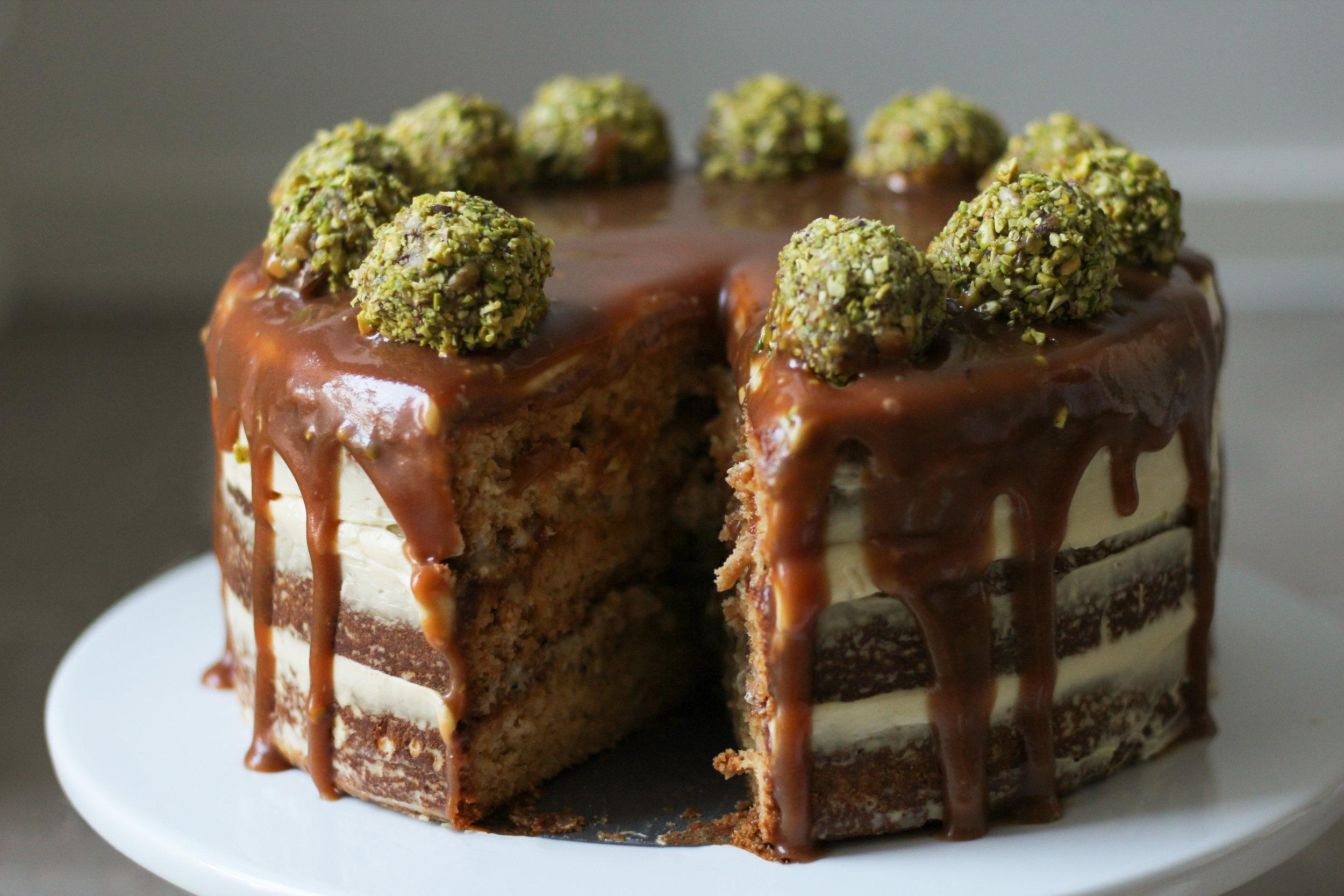 Baklawa Cake