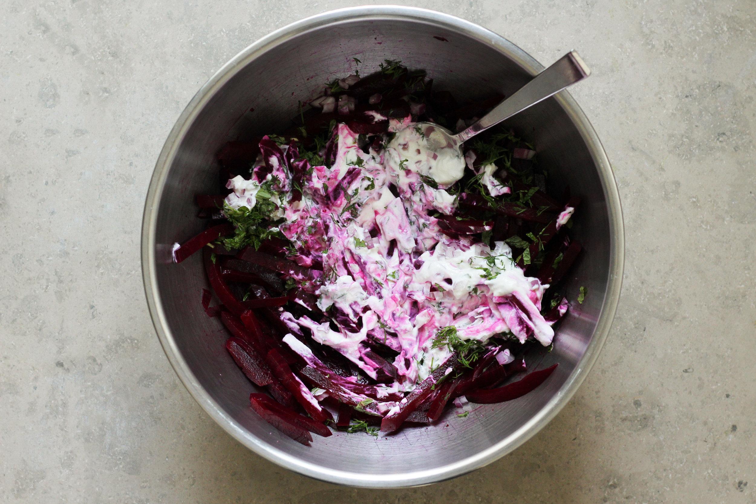 Matchstick Beet Salad