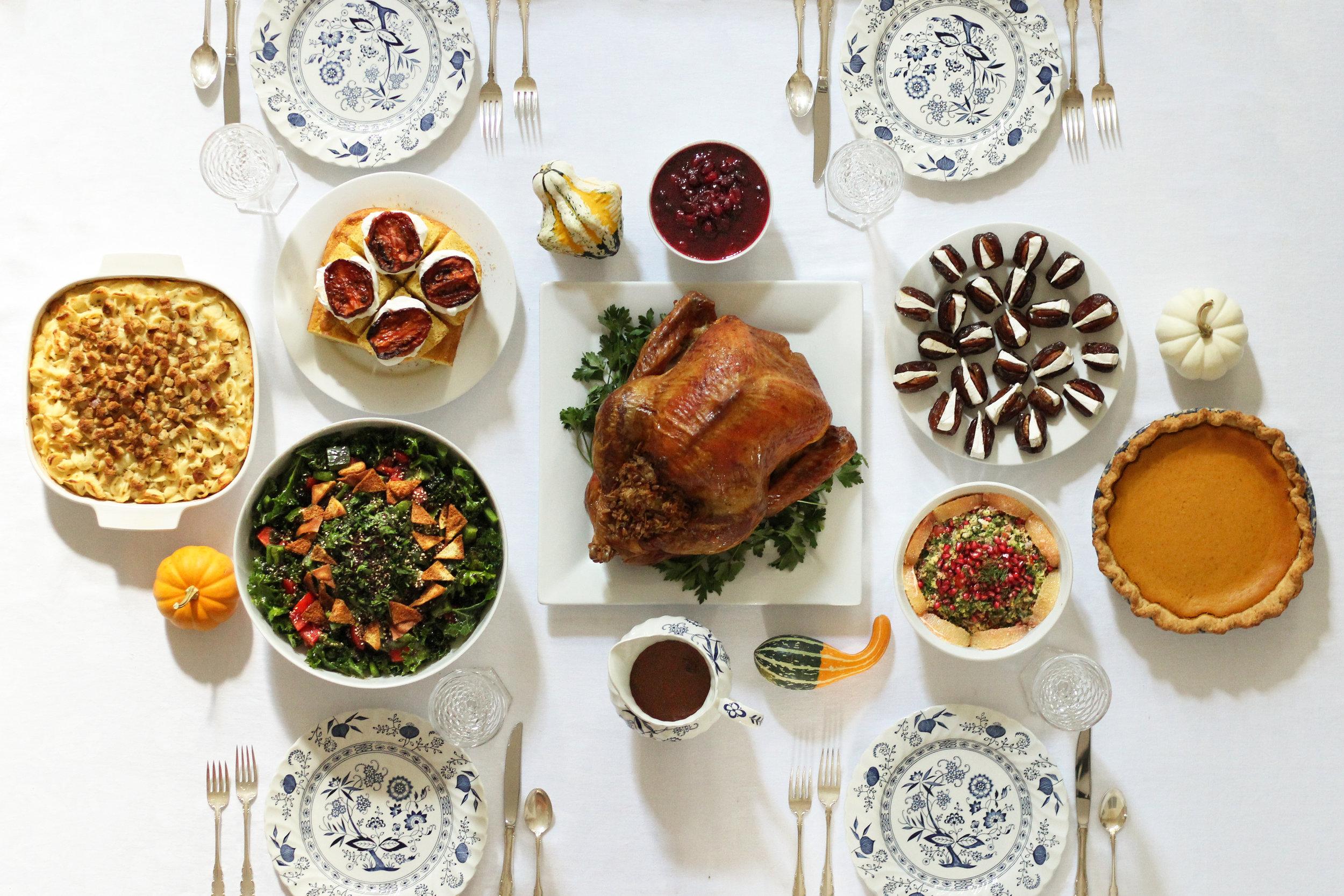 Thanksgiving dinner (works for Christmas too)