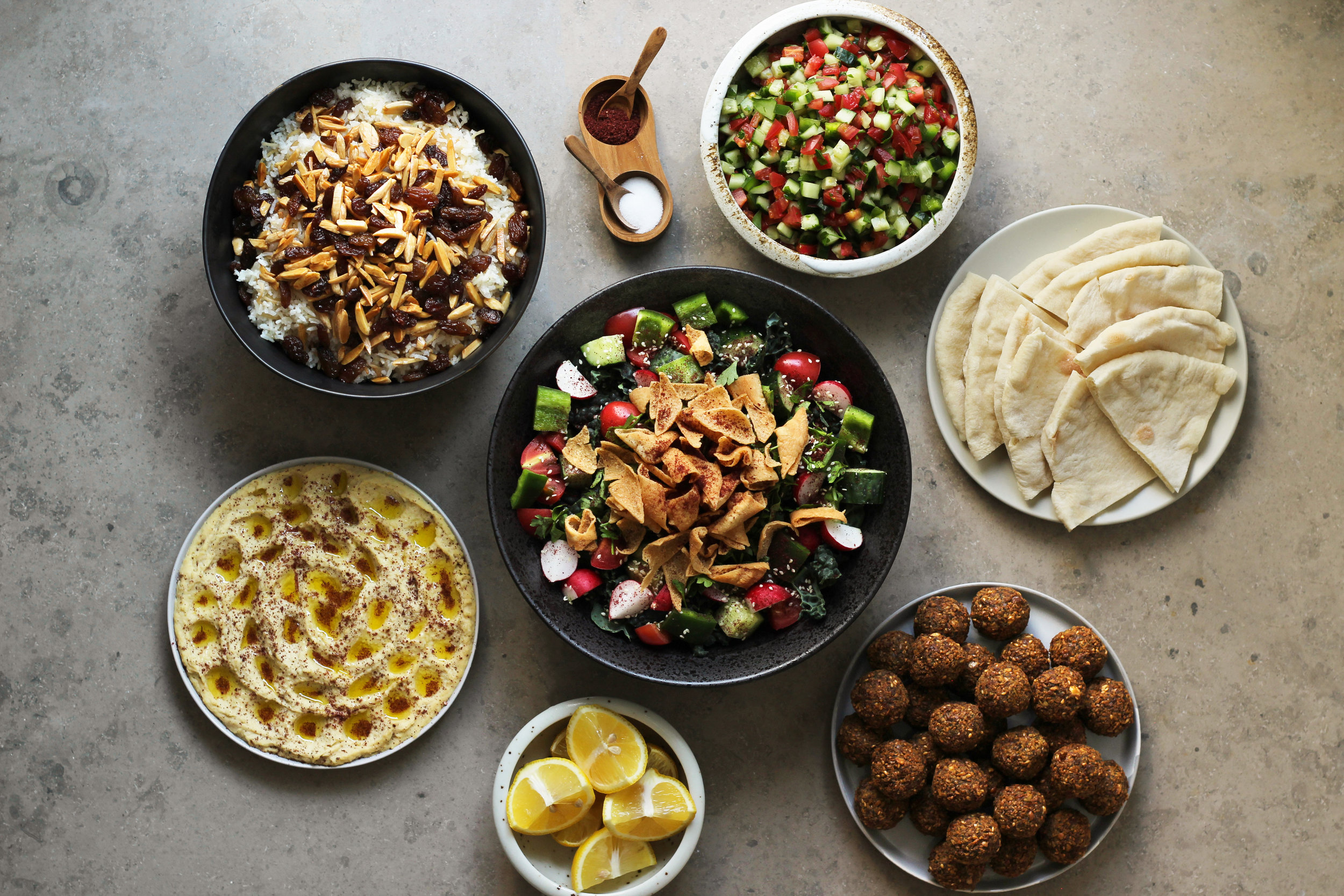 a vegan feast for the Advent fast, or for entertaining vegan guests
