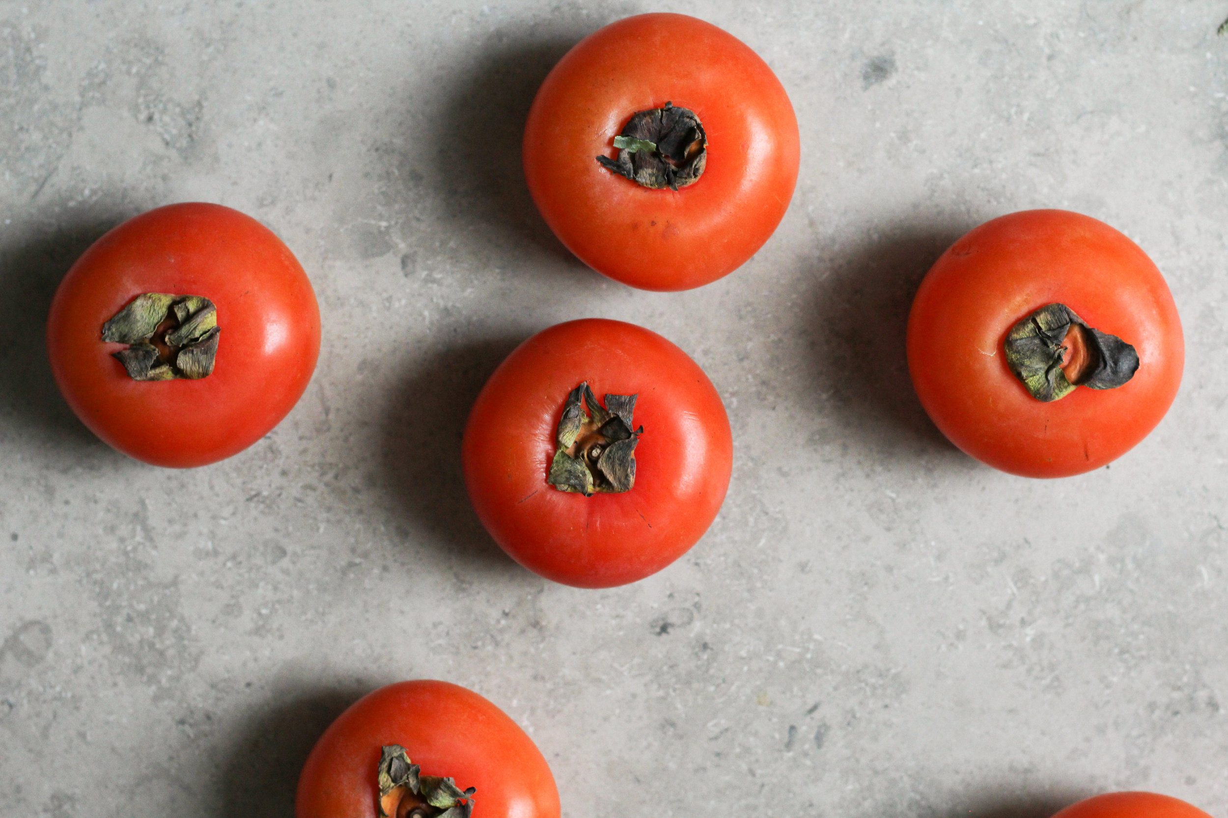 straight up persimmons