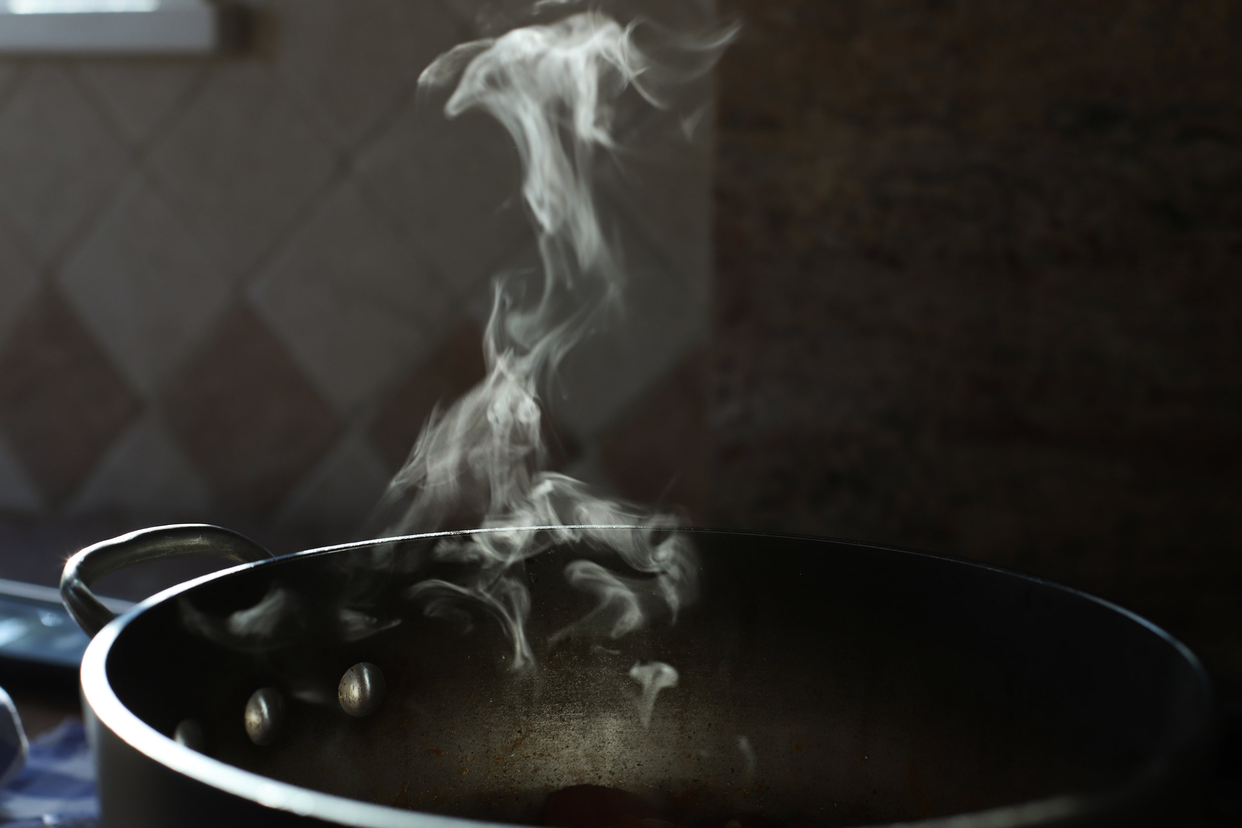 green bean stew | riza sherw'it fasouleyeh