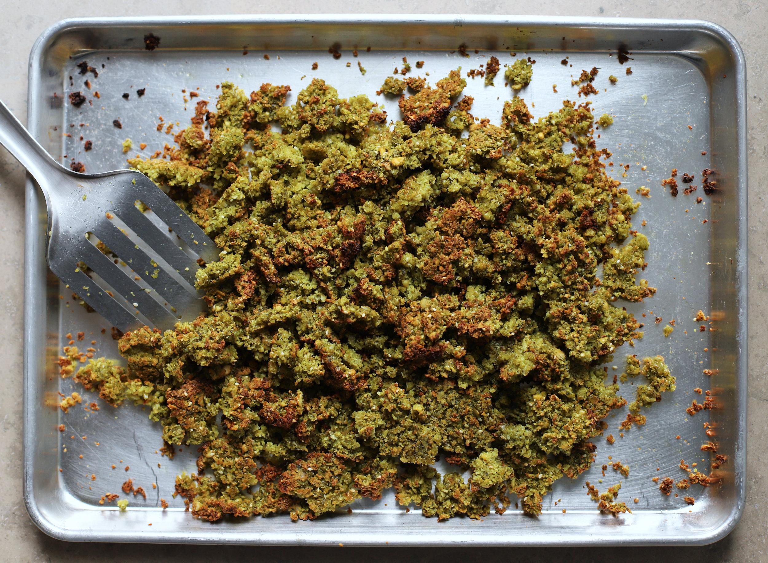 falafel crumbles
