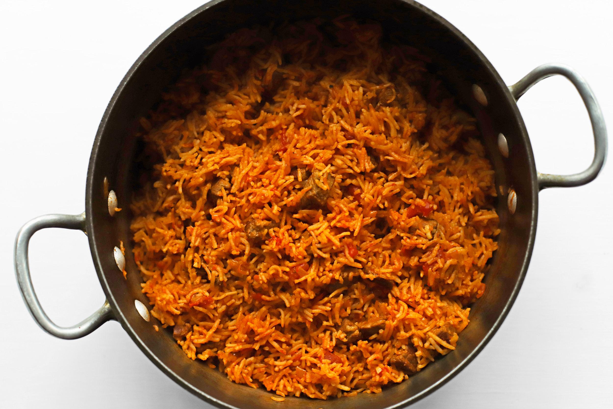 red rice (riza smookah)
