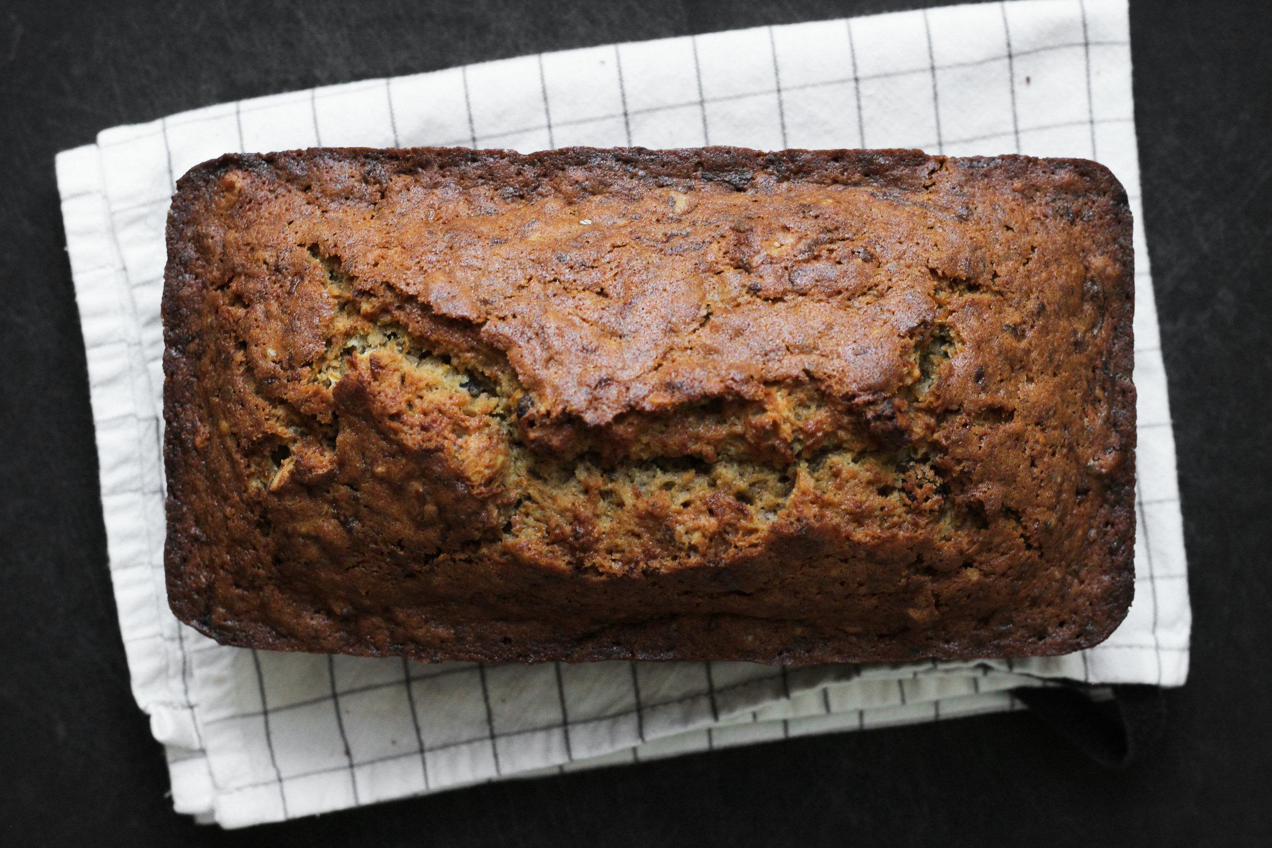 zero-waste zucchini bread