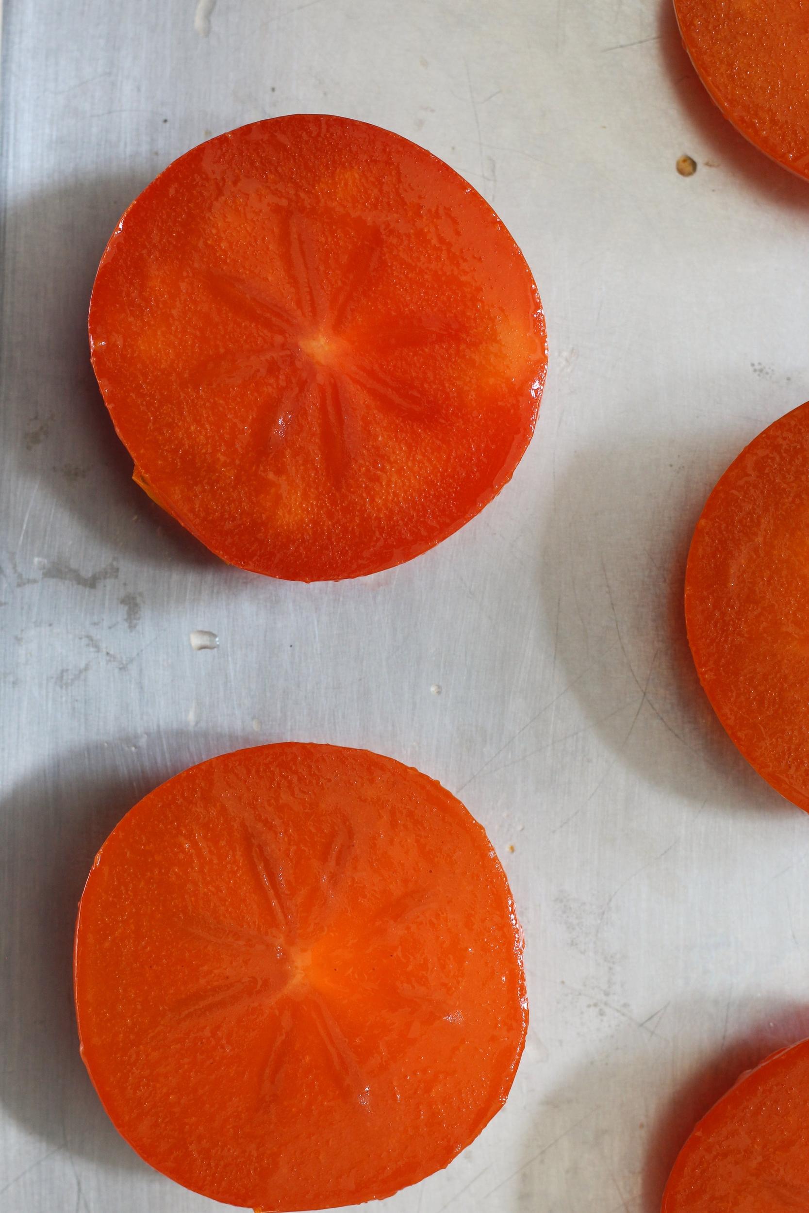 Slow Roast Persimmon Sundae