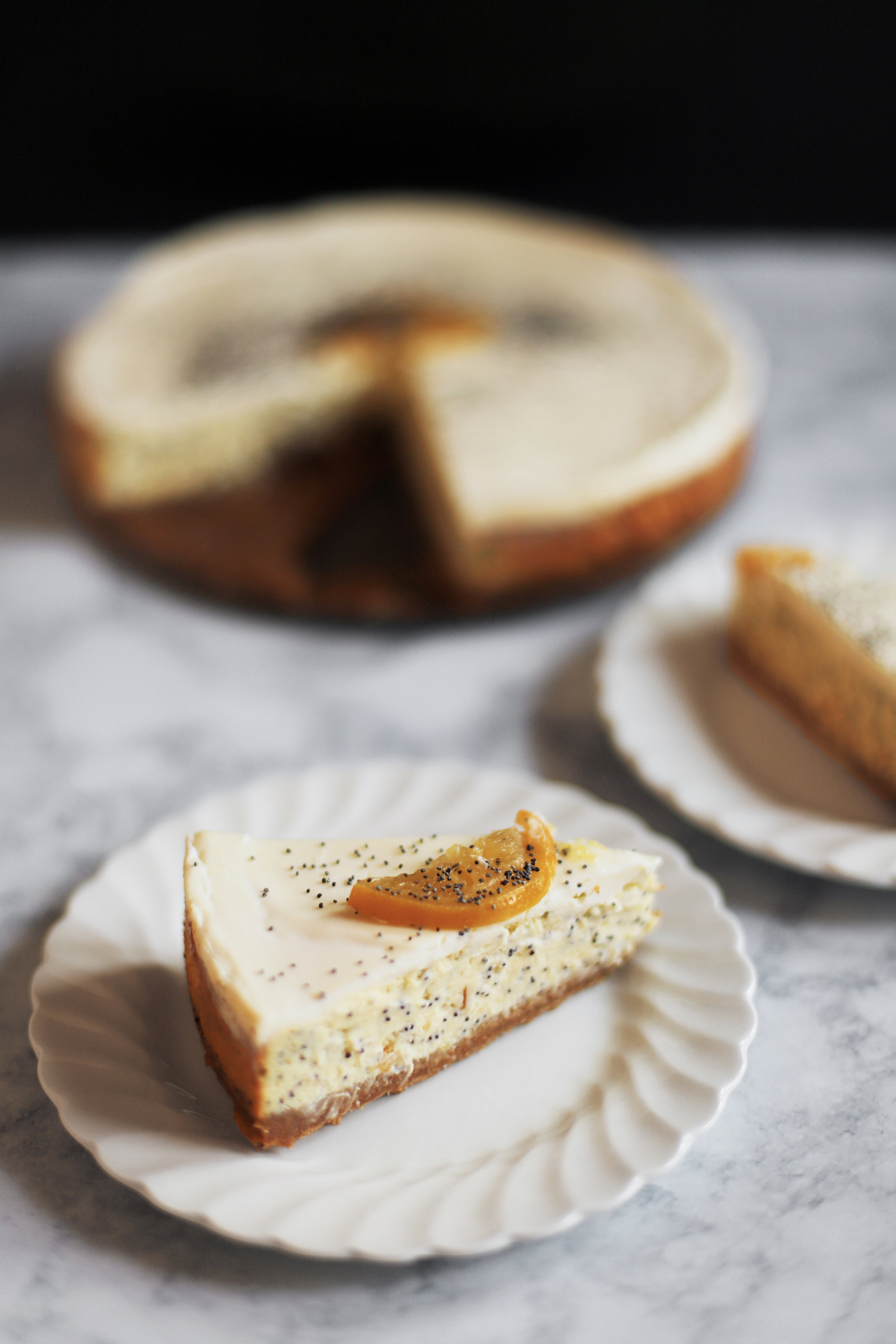 preserved lemon poppy seed cheesecake