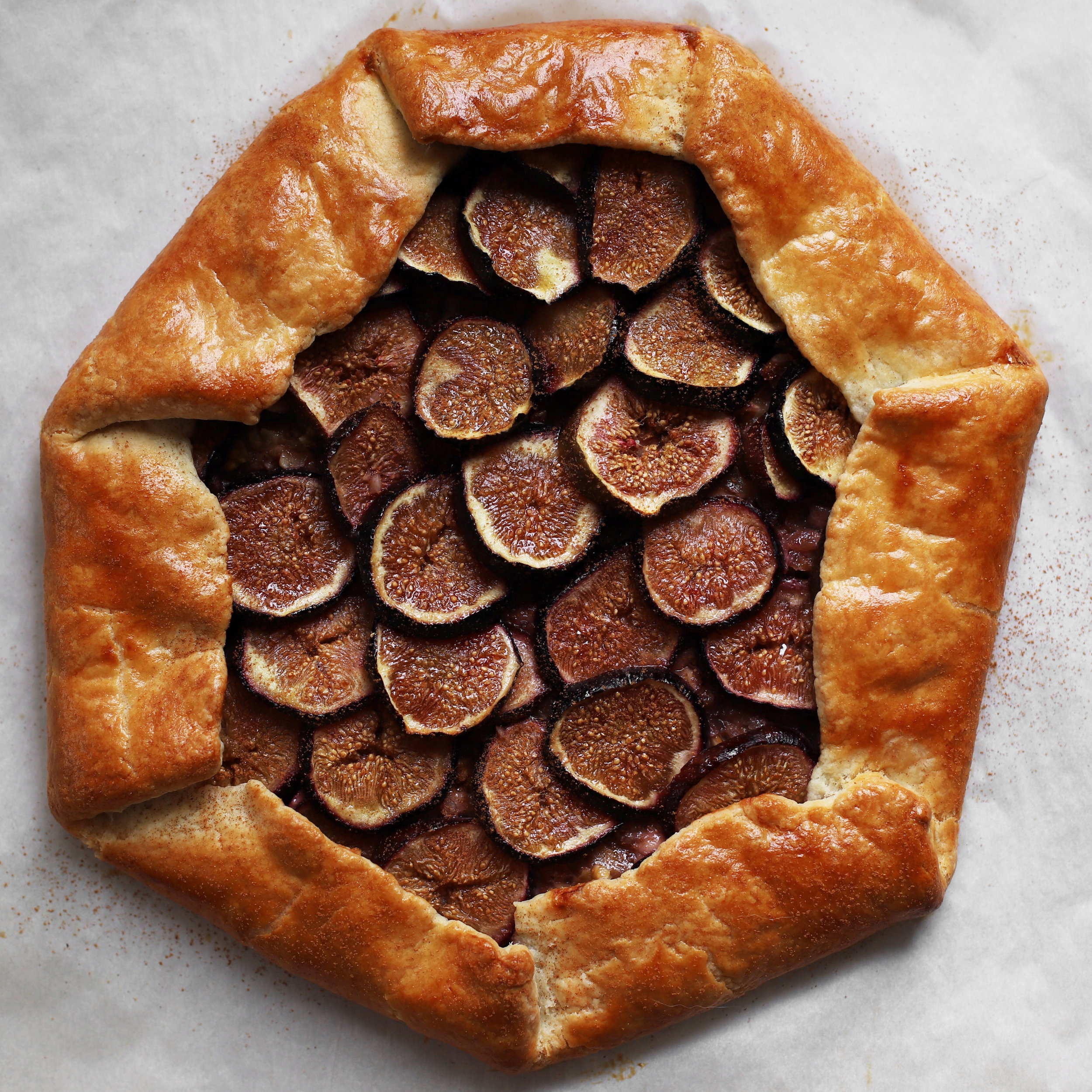 dreamy fig galette