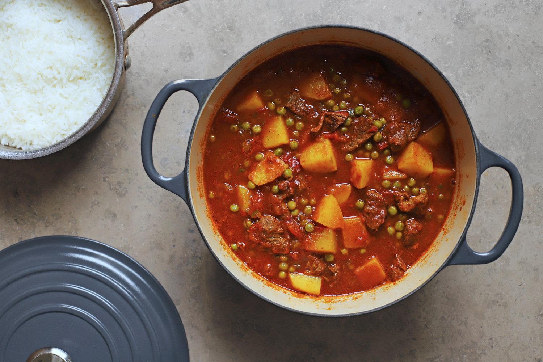 shirw'it kirtopie | potato curry