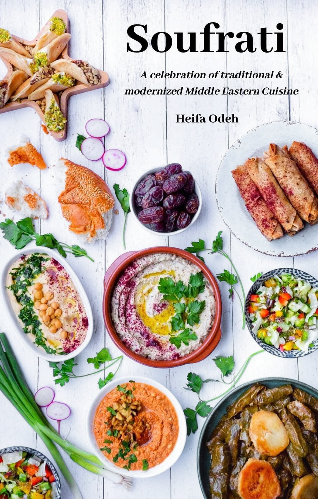 Fufu's Kitchen's new ebook, with tips for a healthy Ramadan and 41 recipes.