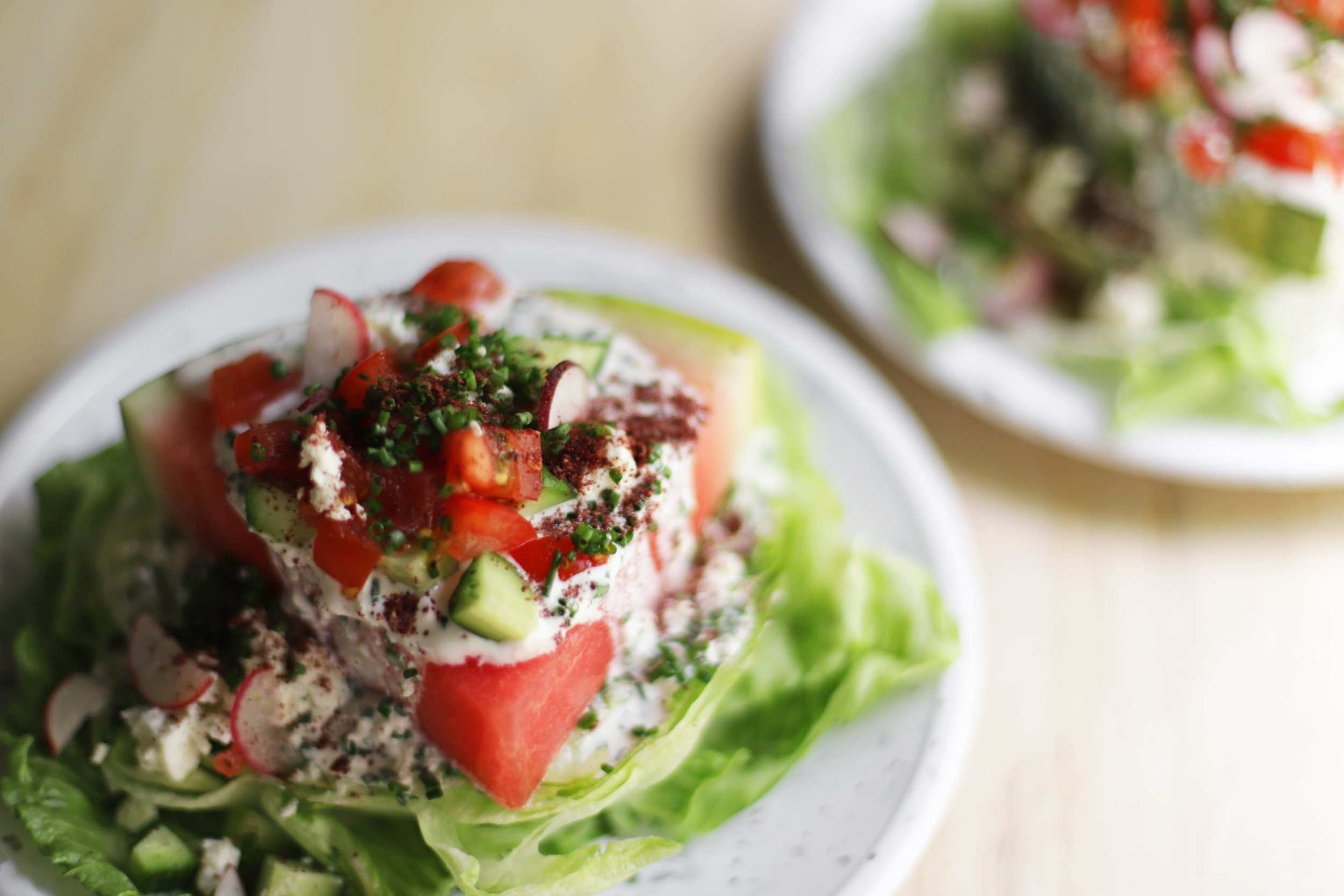 watermelon wedge salad
