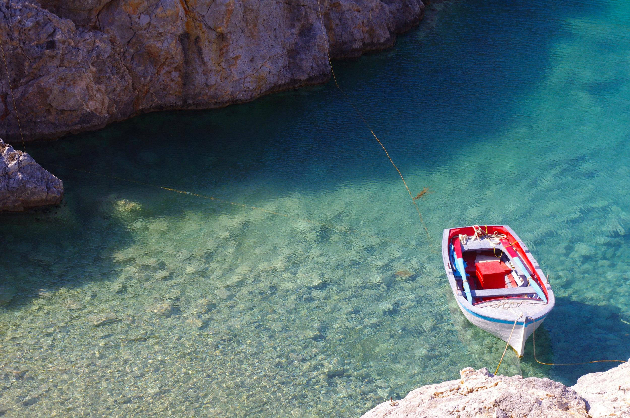 secret beach Puglia