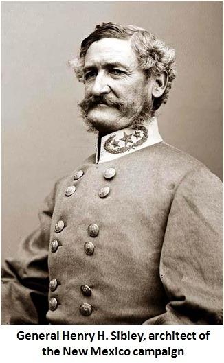 Confederate General H.H. Sibley