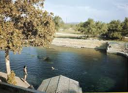 Comanche Springs, before the concrete pool was built.
