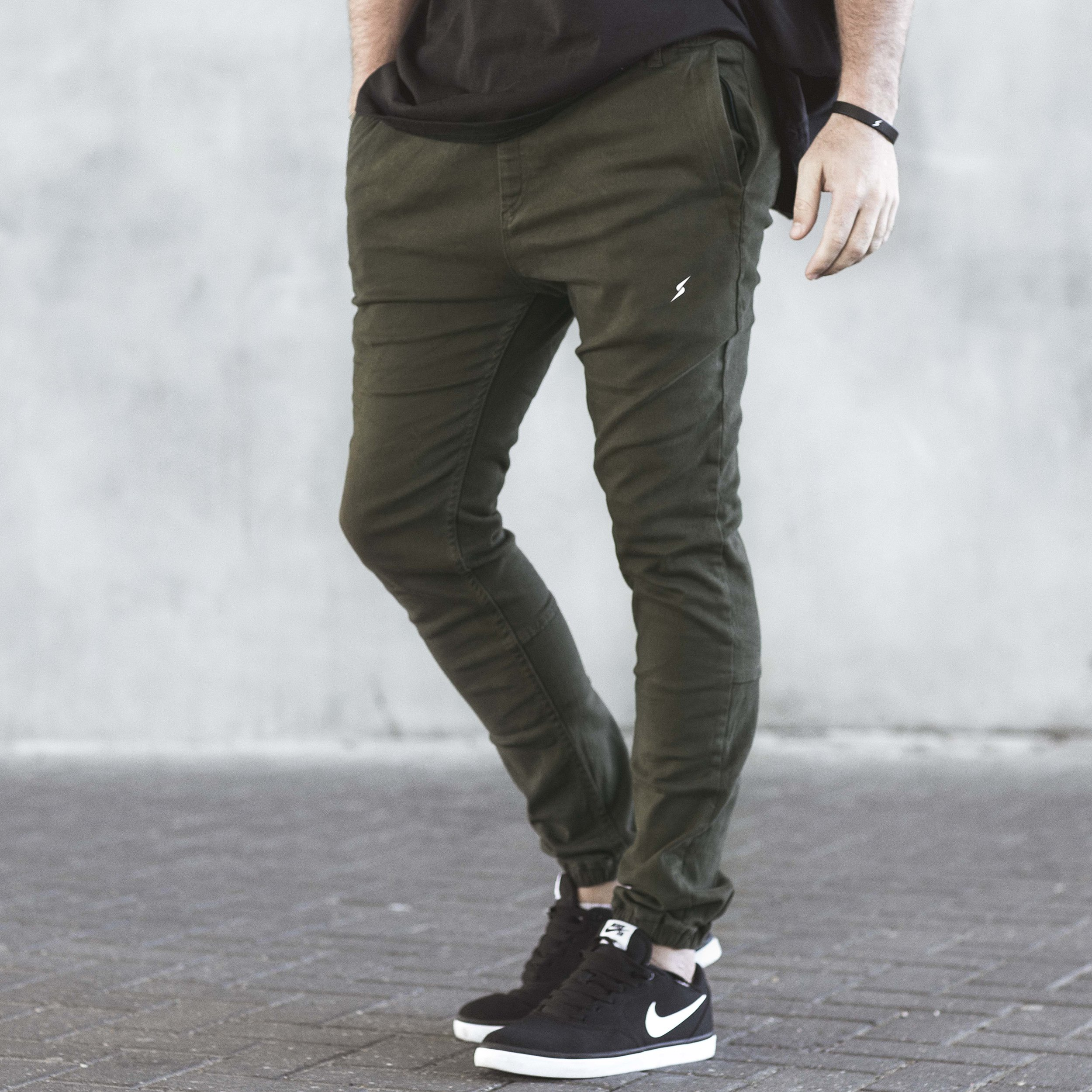 The Stretch Denims (Olive)