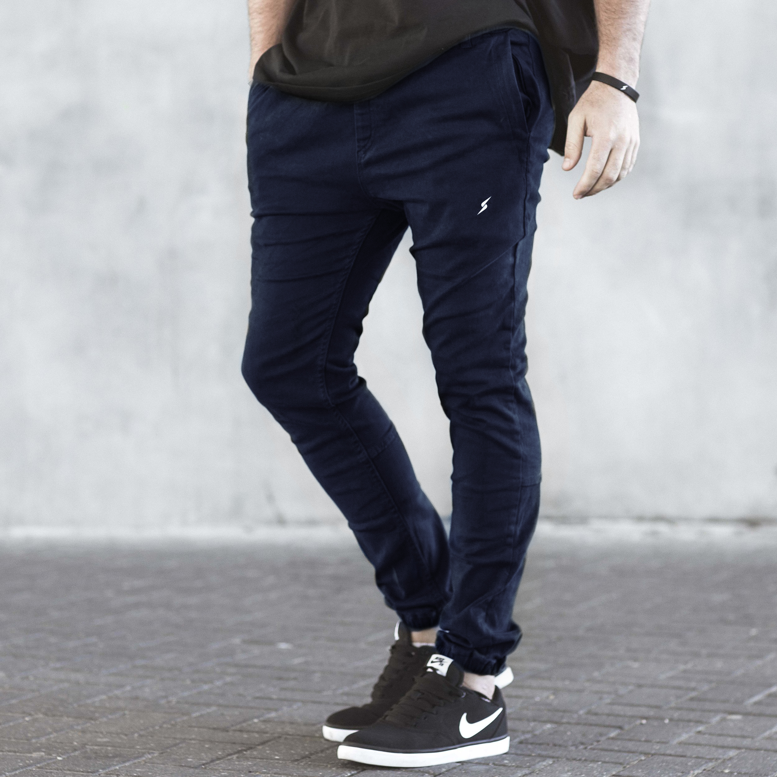 The Stretch Denims (Navy)