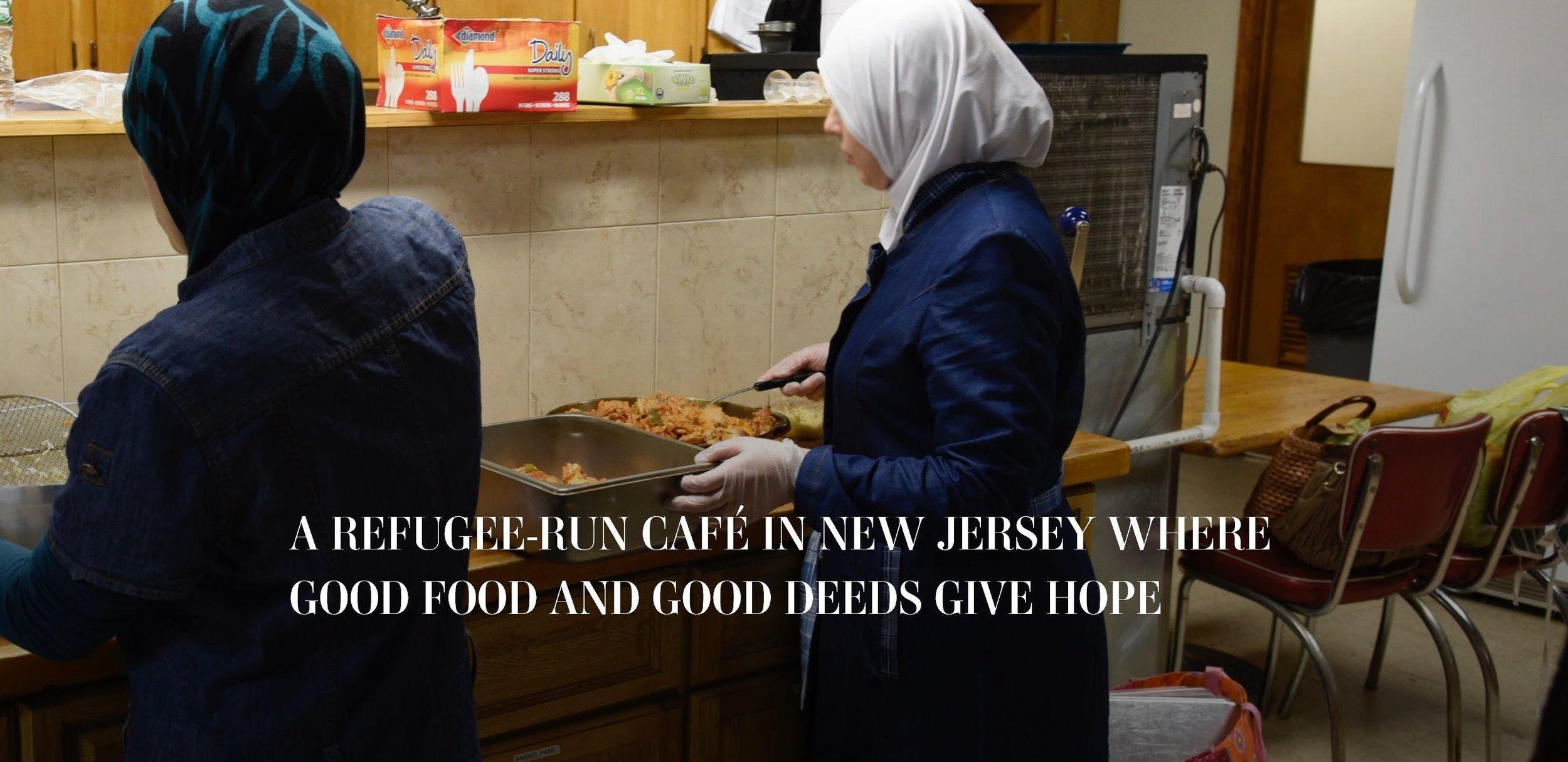 Refugee Cafe Story