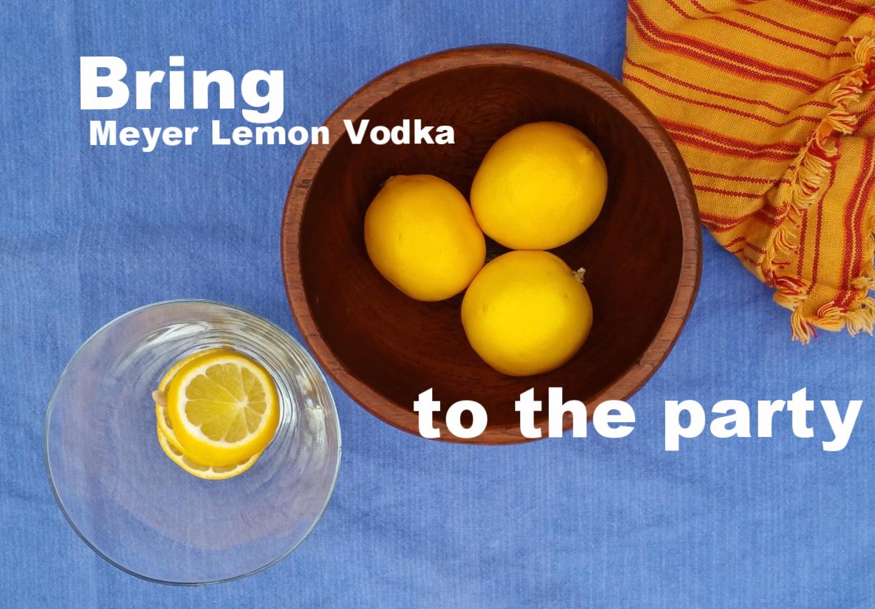 When Life Gives You Meyer Lemons, Make Vodka