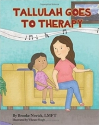 """Purchase my children's book - """"Tallulah Goes to Therapy"""""""