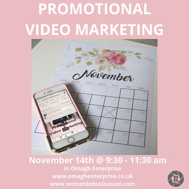 📱Presenting workshops is something that I have wanted to do for a long time, so I am very grateful to the guys' at Women in Business NI for giving me this opportunity to share my passion for making videos.⠀⠀⠀⠀⠀⠀⠀⠀⠀ ⠀⠀⠀⠀⠀⠀⠀⠀⠀ If you're interested in learning essential tips for using video for your business, then this is the workshop for you.⠀⠀⠀⠀⠀⠀⠀⠀⠀ ⠀⠀⠀⠀⠀⠀⠀⠀⠀ The use of video goes far beyond replacing images with animation and this event will delve into practical advice and guidance on mobile video making.⠀⠀⠀⠀⠀⠀⠀⠀⠀ ⠀⠀⠀⠀⠀⠀⠀⠀⠀ I can't wait to partner up once again with WIBNI and also the guys at Omagh Enterprise centre. Throughout this workshop, I will explore the use of video content and show you tips on how to apply film making skills to your own business. I will discuss the ease of using your smartphone and various other equipment to save you time and money!⠀⠀⠀⠀⠀⠀⠀⠀⠀ ⠀⠀⠀⠀⠀⠀⠀⠀⠀ During this workshop, I will also give you pointers on the best angles and lighting you can use, the easiest and most time-efficient way to film and which apps can give you a professional-looking marketing tool on a budget!⠀⠀⠀⠀⠀⠀⠀⠀⠀ ⠀⠀⠀⠀⠀⠀⠀⠀⠀ 👇If you are interested in attending our workshop please contact the lovely people at www.omaghenterprise.co.uk &⠀⠀⠀⠀⠀⠀⠀⠀⠀ www.womeninbusinessni.com⠀⠀⠀⠀⠀⠀⠀⠀⠀ Hopefully, see you there 📱⠀⠀⠀⠀⠀⠀⠀⠀⠀ ⠀⠀⠀⠀⠀⠀⠀⠀⠀ ⠀⠀⠀⠀⠀⠀⠀⠀⠀ #smartphone #videoonyourphone #promotionalvideomarketing #videoonyourphone #promovideo  #digitalmedia #digitalmarketing #ContentMarketing #Branding #DigitalMarketing #storytelling  #Content #Marketing #SocialMedia #OnlineMarketing #SocialMediaMarketing #video #promos #videocontent #Dreammediaireland #wibni #omaghenterprise