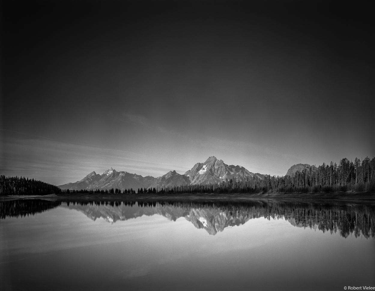 Mt Moran Morning Reflection