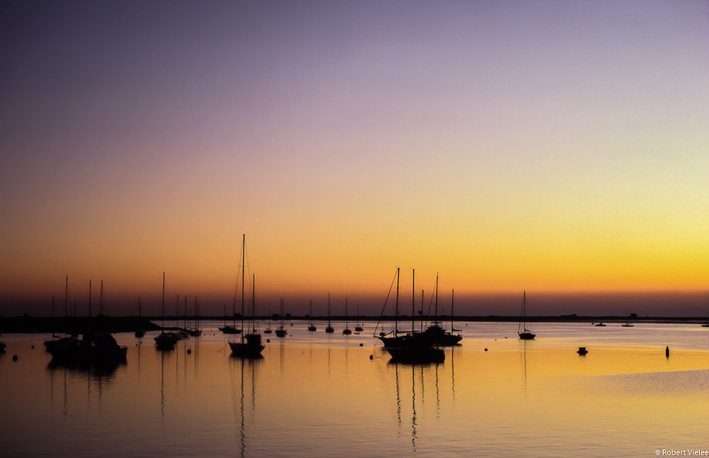 Dawn Settles Over Quiet Bay