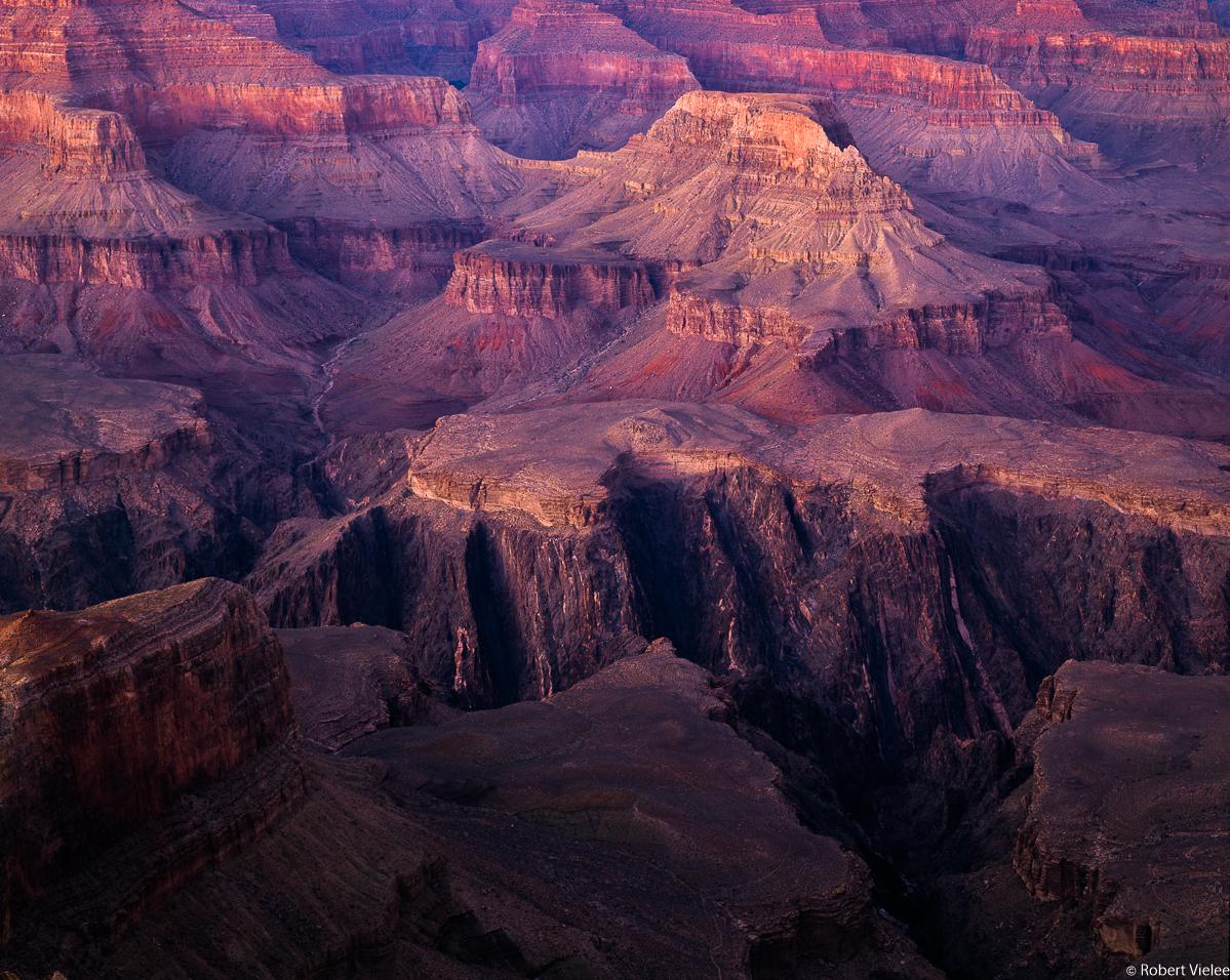 Grand Canyon, Layers at Dusk