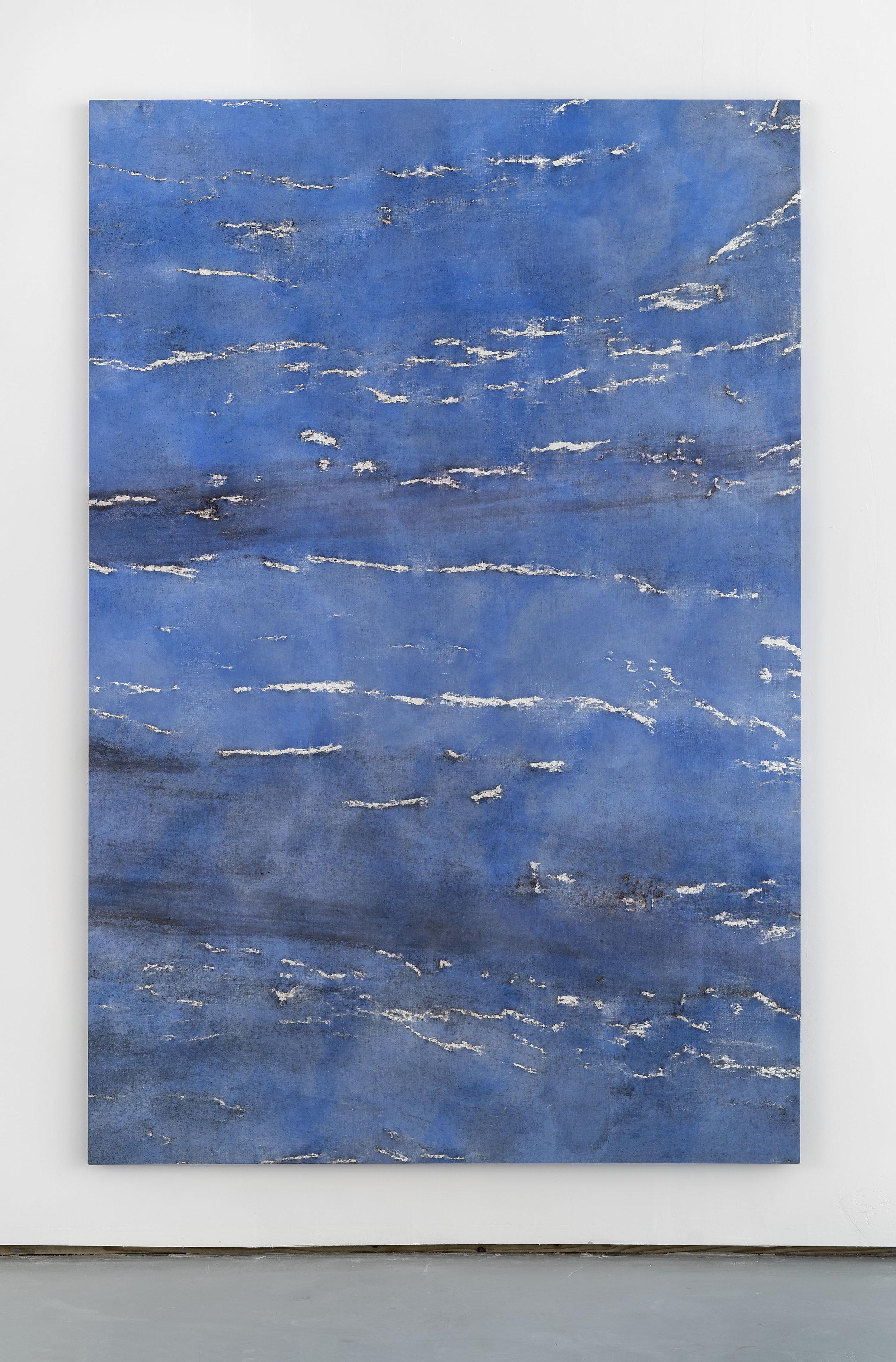 SUMIT , 2018 Oil on linen 67 x 100 in. 170.2 x 254 cm