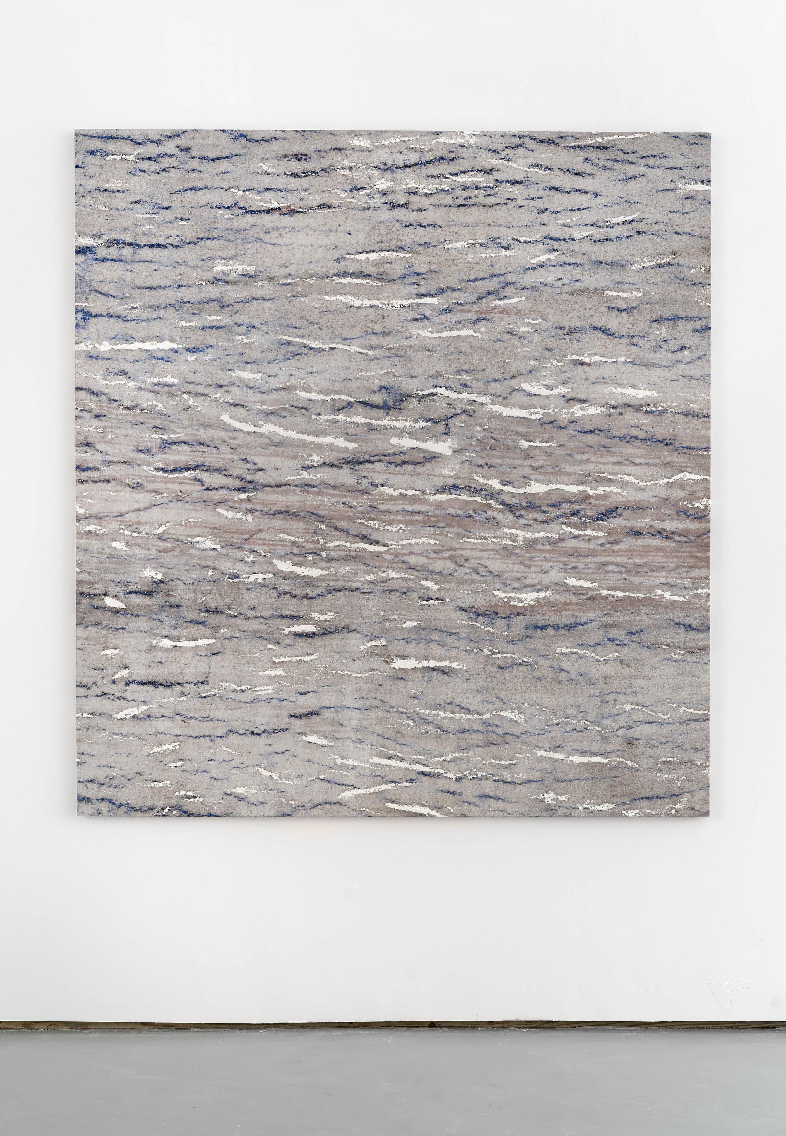 CASSH , 2018 Oil on linen 77 x 83 in. 195.6 x 210.8 cm