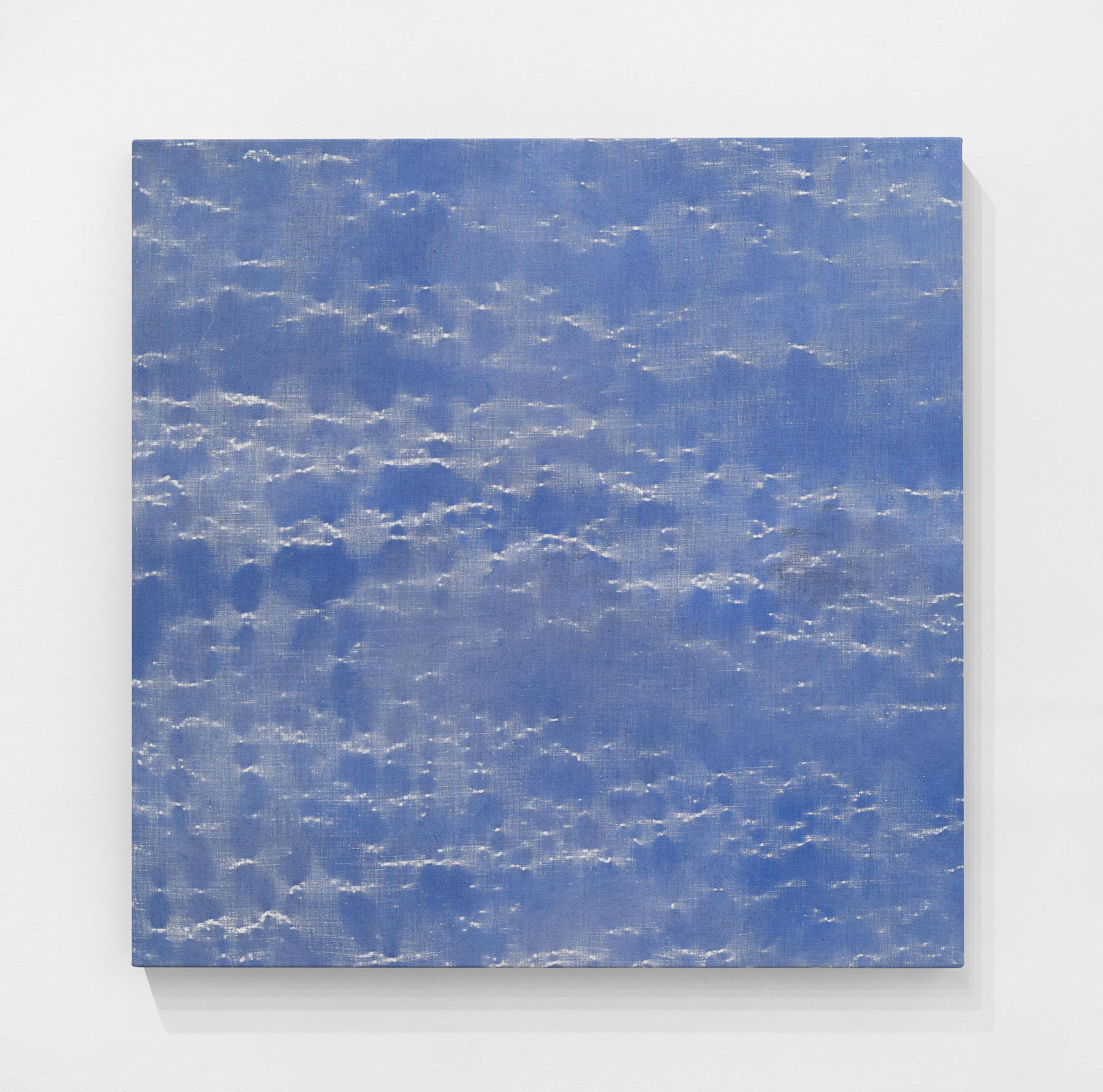 HAUNA , 2018 Oil on linen 30 x 30 in. 76.2 x 76.2 cm