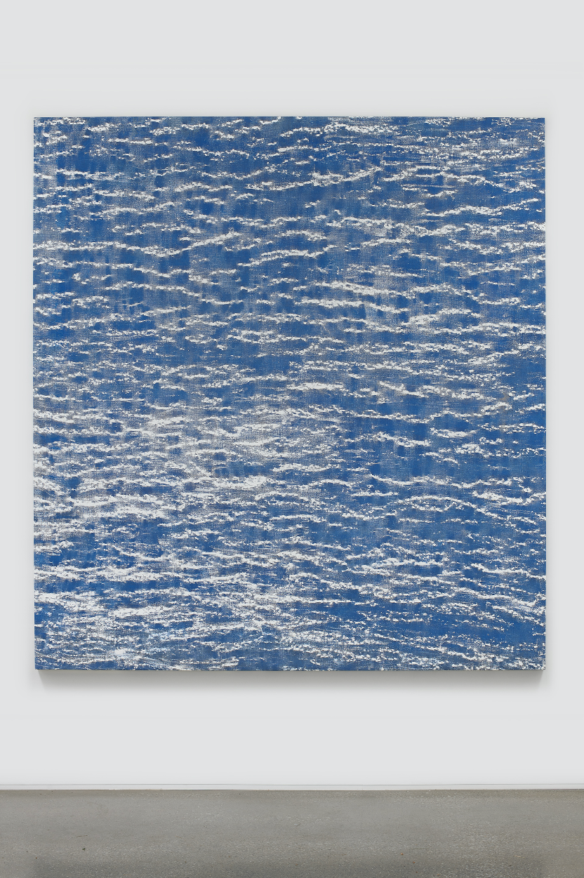 UUNIX , 2019 Oil on canvas 86 x 79 inches (218.4 x 200.7 cm)