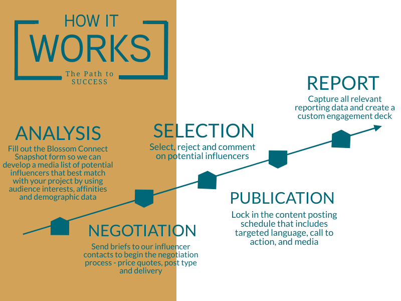 How It Works - Analysis | Negotiate | Select | Post | Report